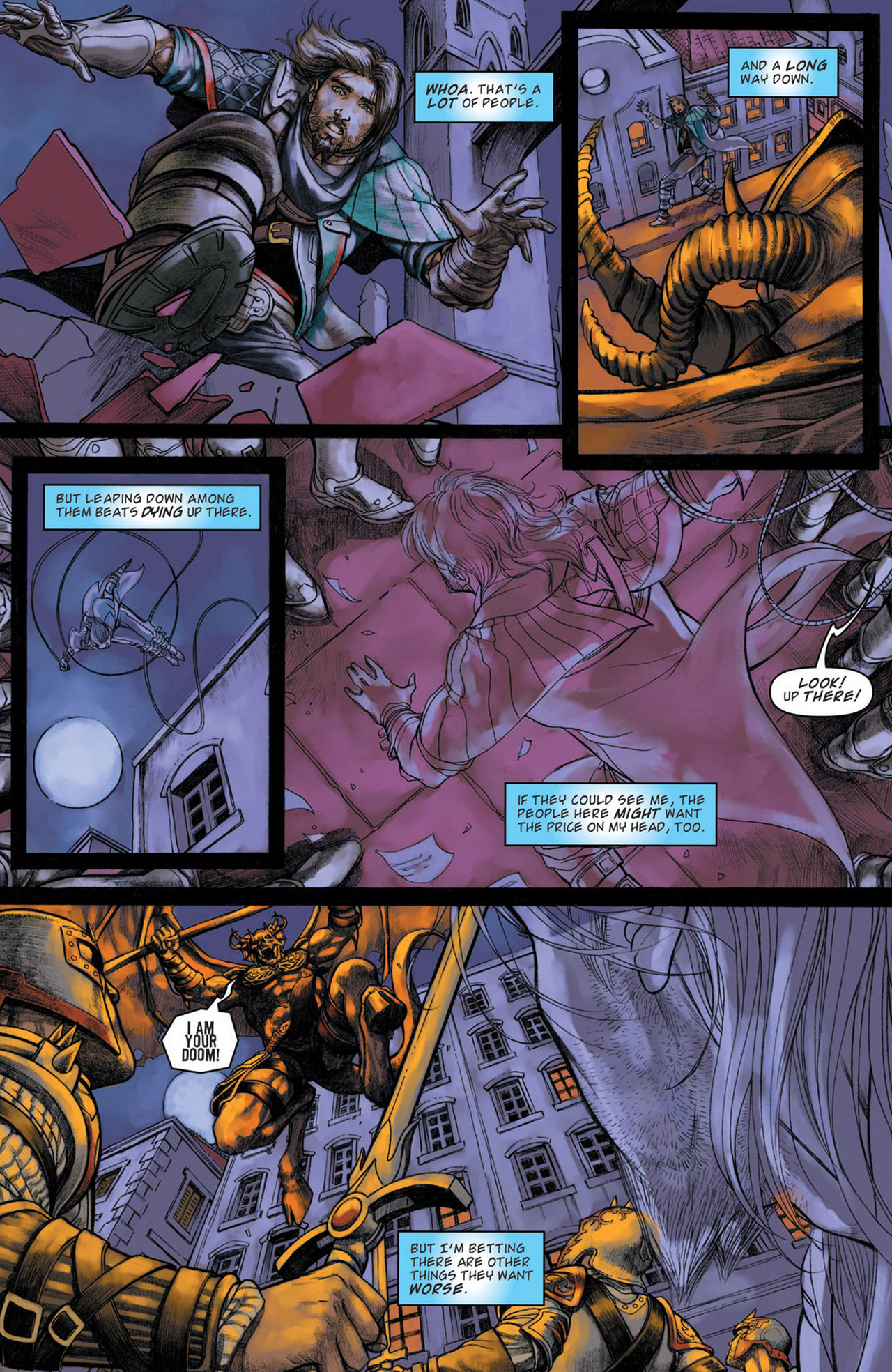 Read online Magic: The Gathering--Path of Vengeance comic -  Issue #1 - 21