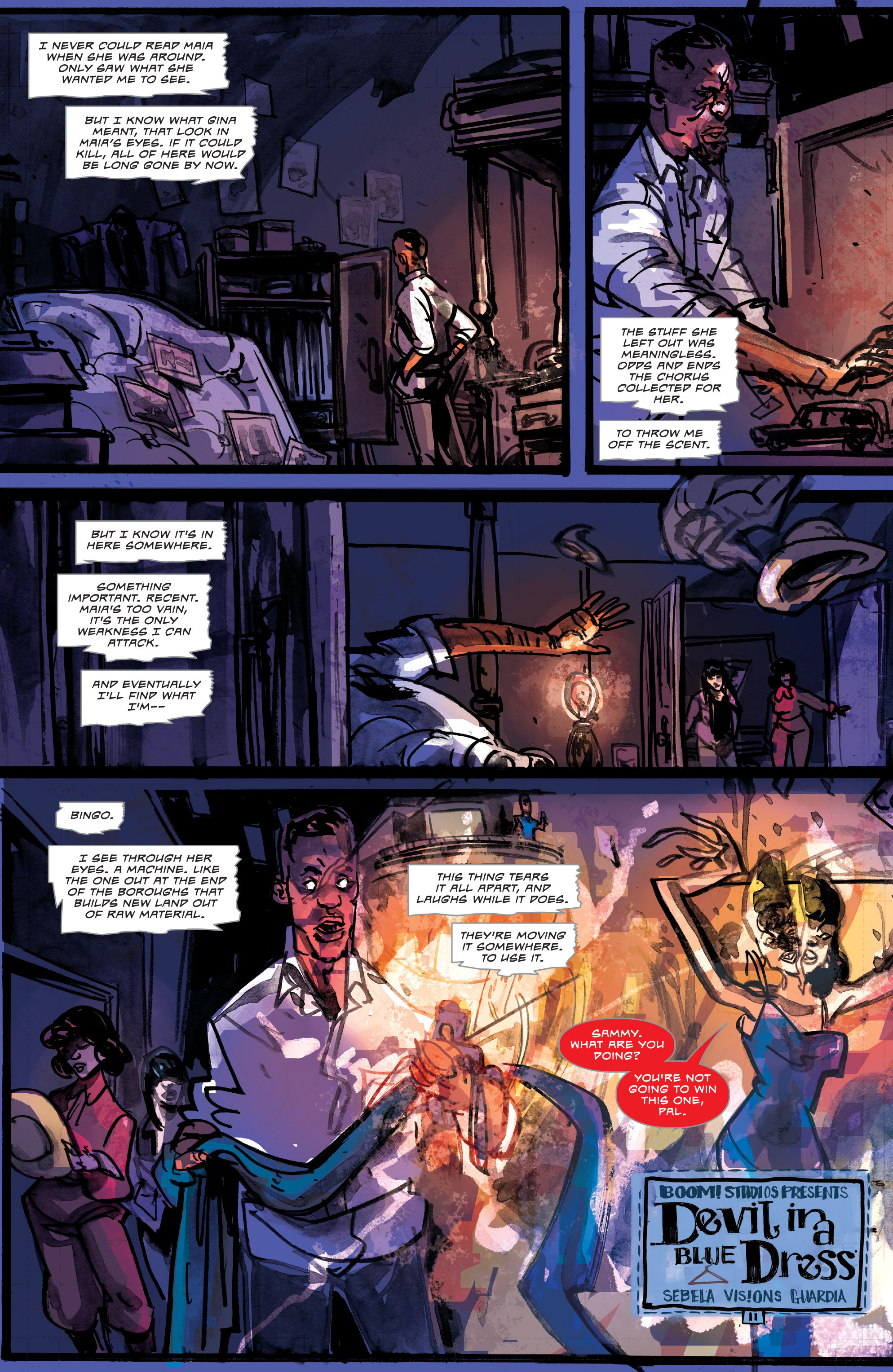 Read online Dead Letters comic -  Issue #11 - 14