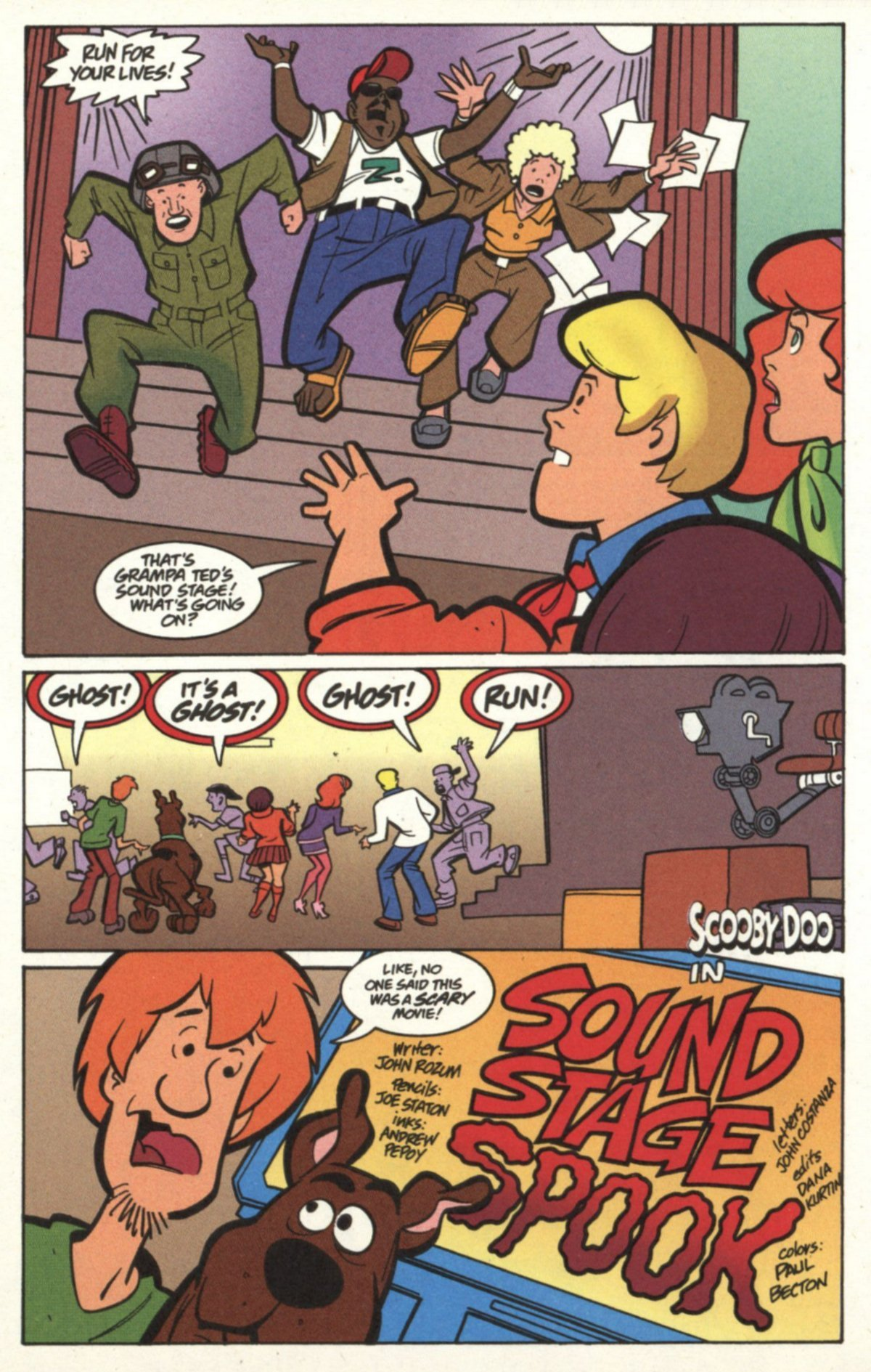 Read online Scooby-Doo (1997) comic -  Issue #18 - 13