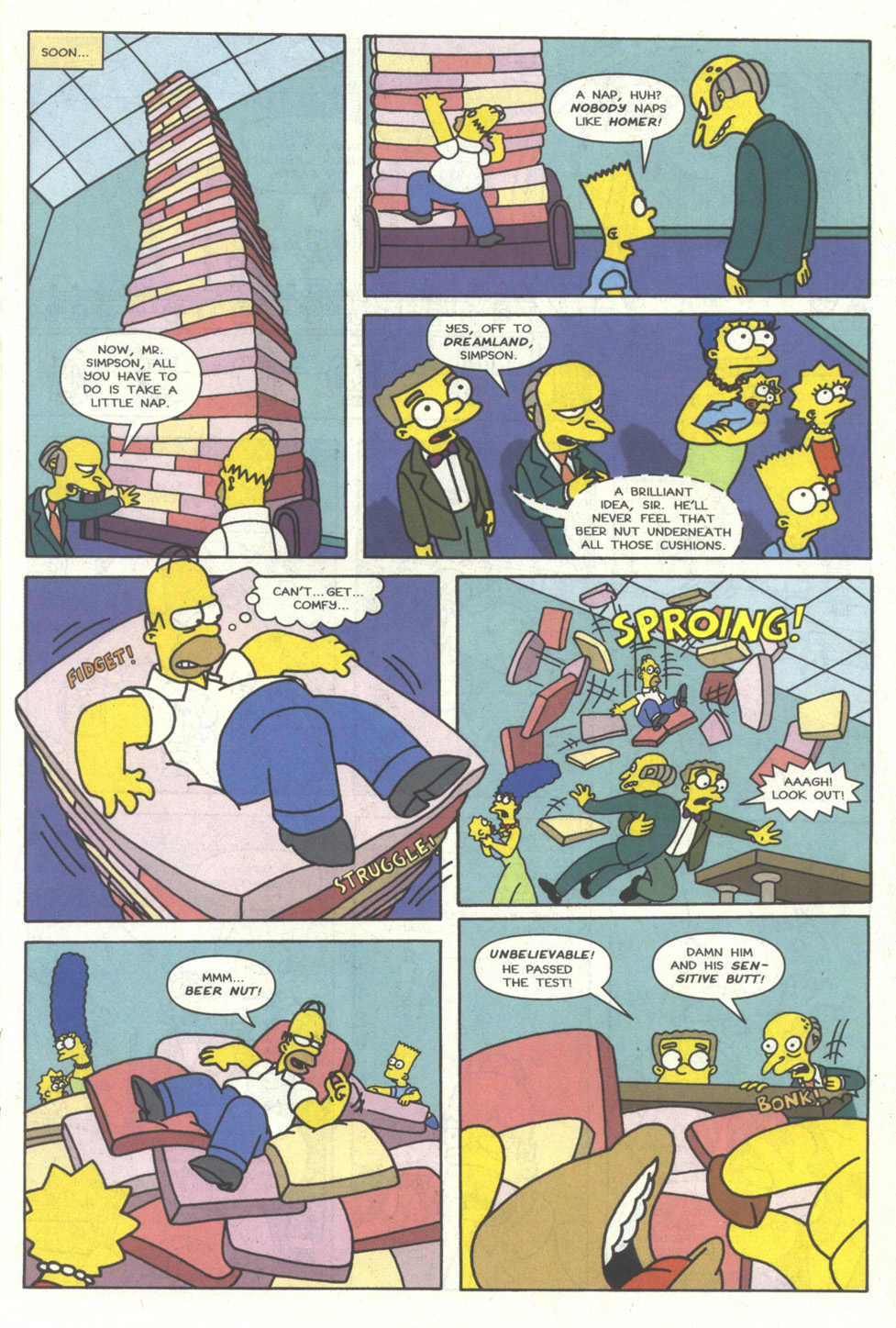 Read online Simpsons Comics comic -  Issue #14 - 14