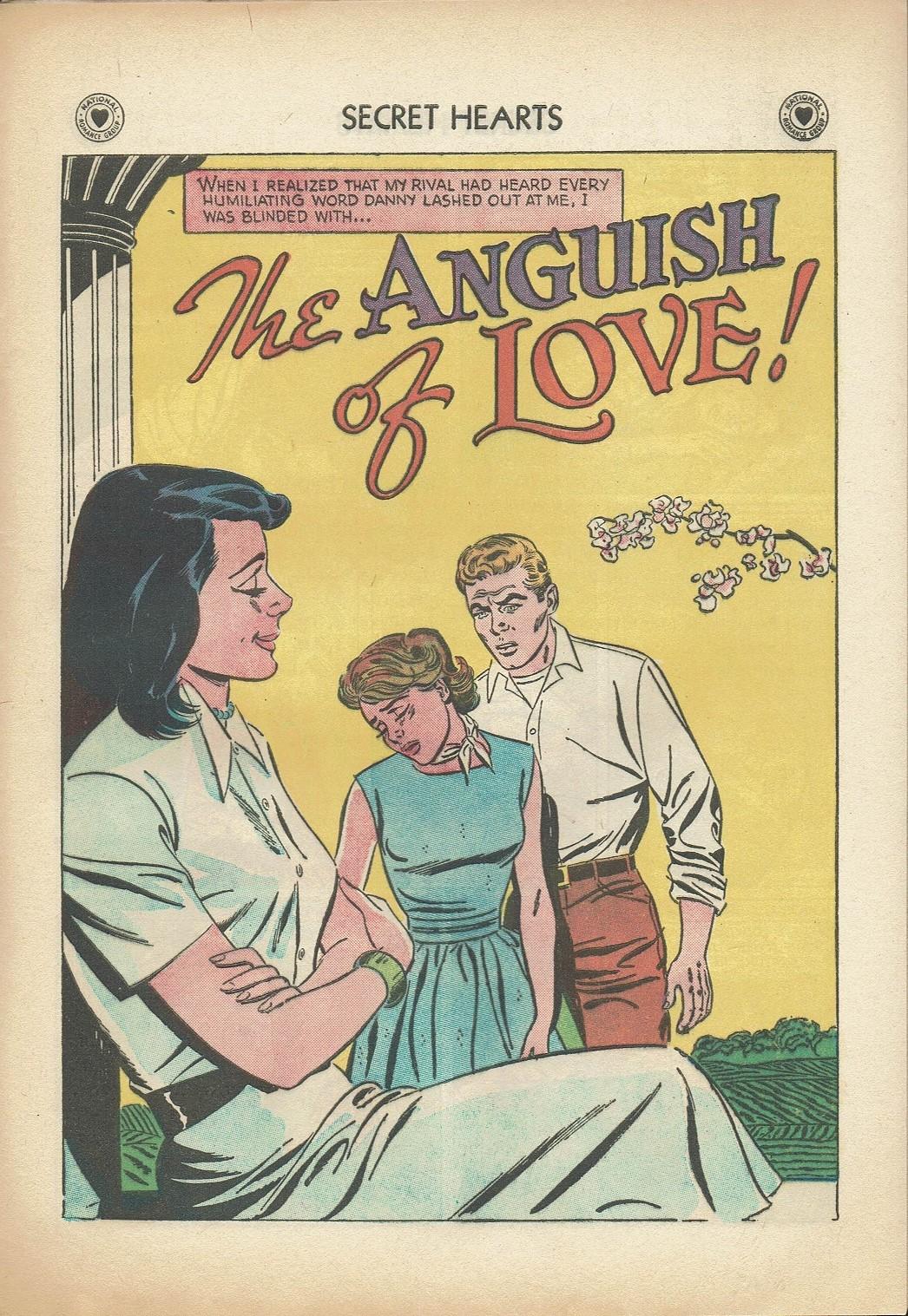 Read online Secret Hearts comic -  Issue #47 - 27