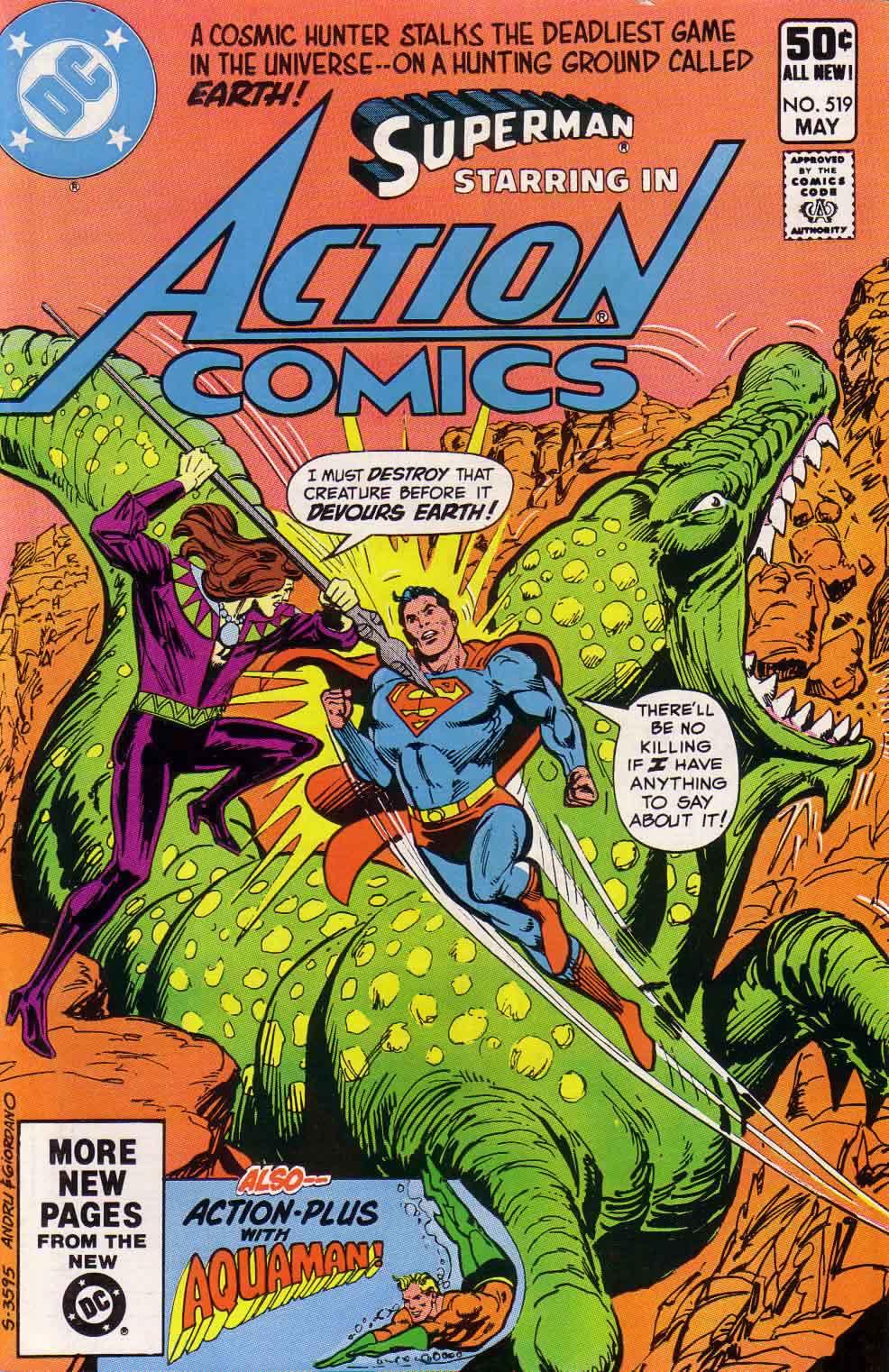 Action Comics (1938) 519 Page 1
