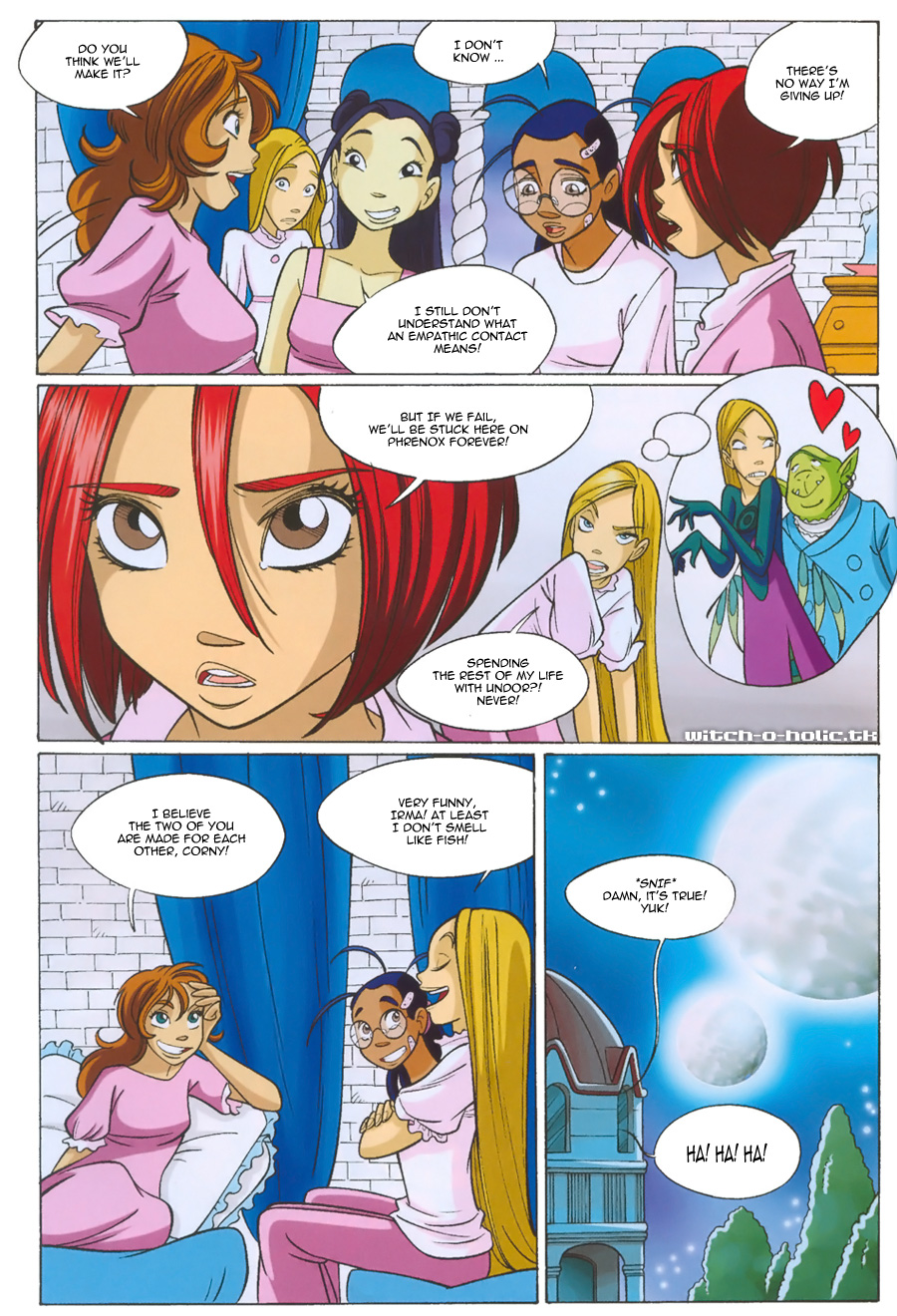 Read online W.i.t.c.h. comic -  Issue #135 - 18