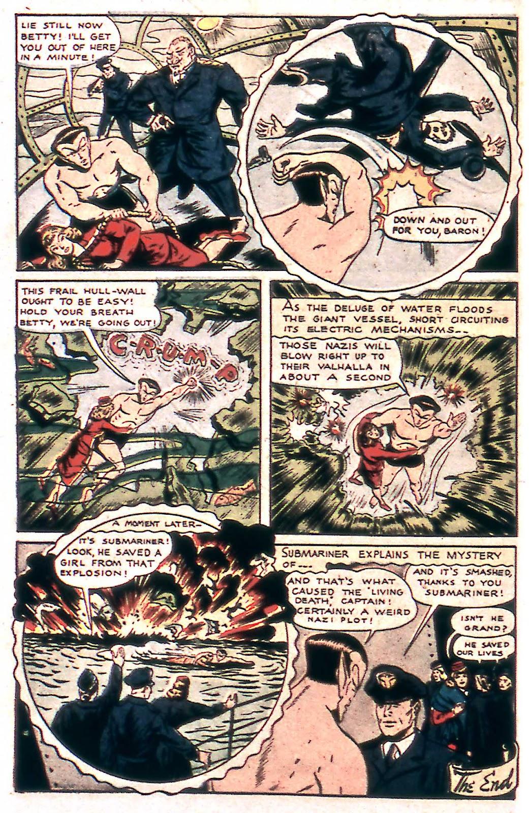 Sub-Mariner Comics Issue #14 #14 - English 14