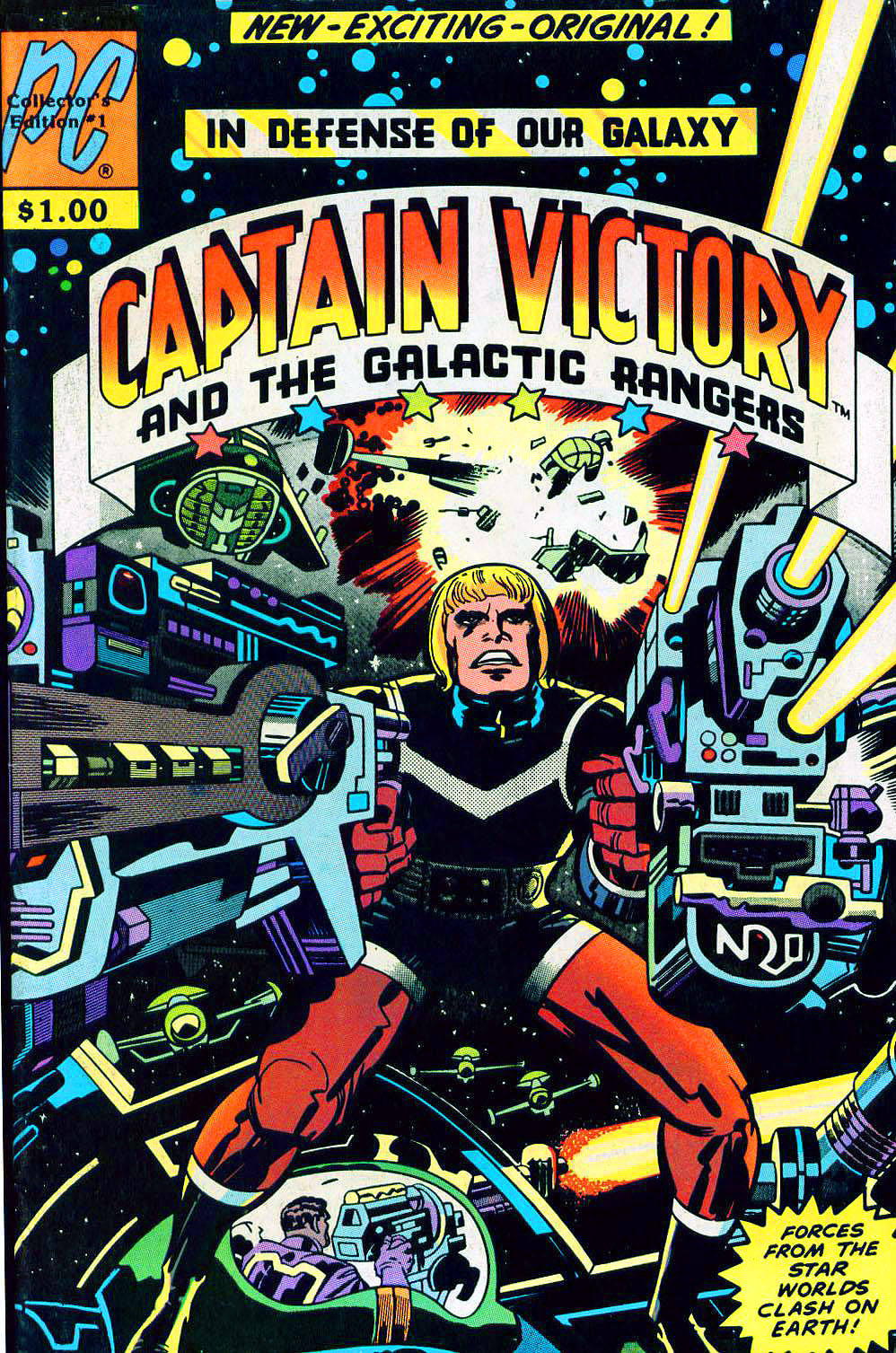Captain Victory and the Galactic Rangers (1981) 1 Page 1