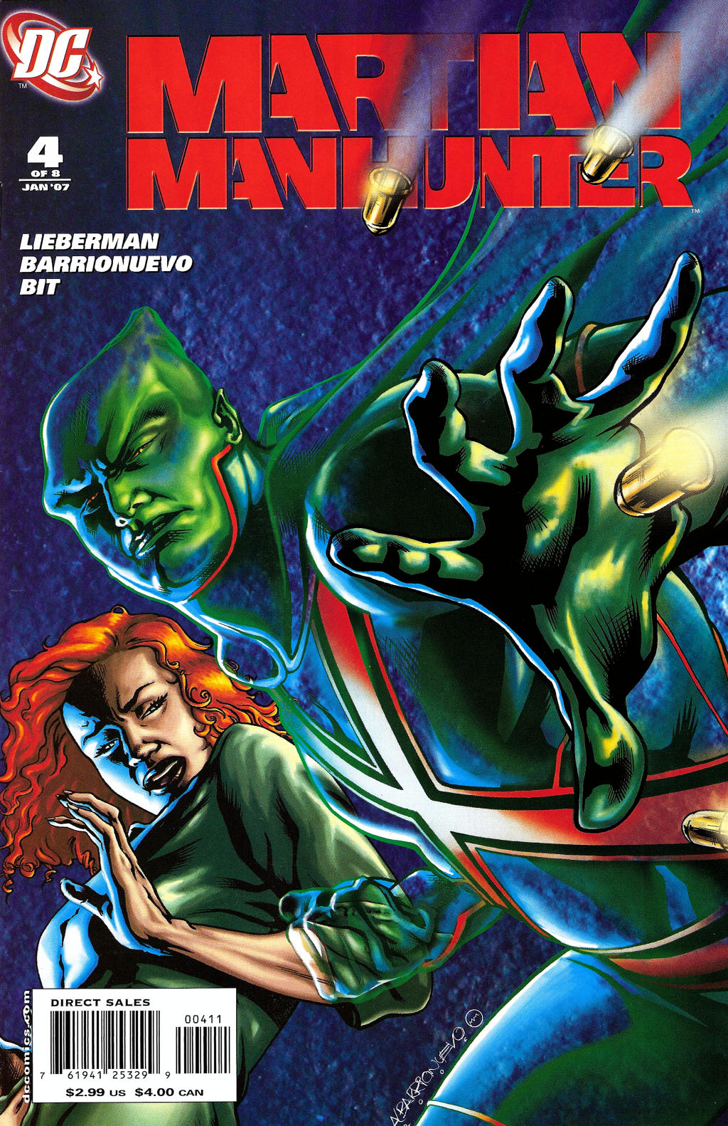 Read online Martian Manhunter (2006) comic -  Issue #4 - 1