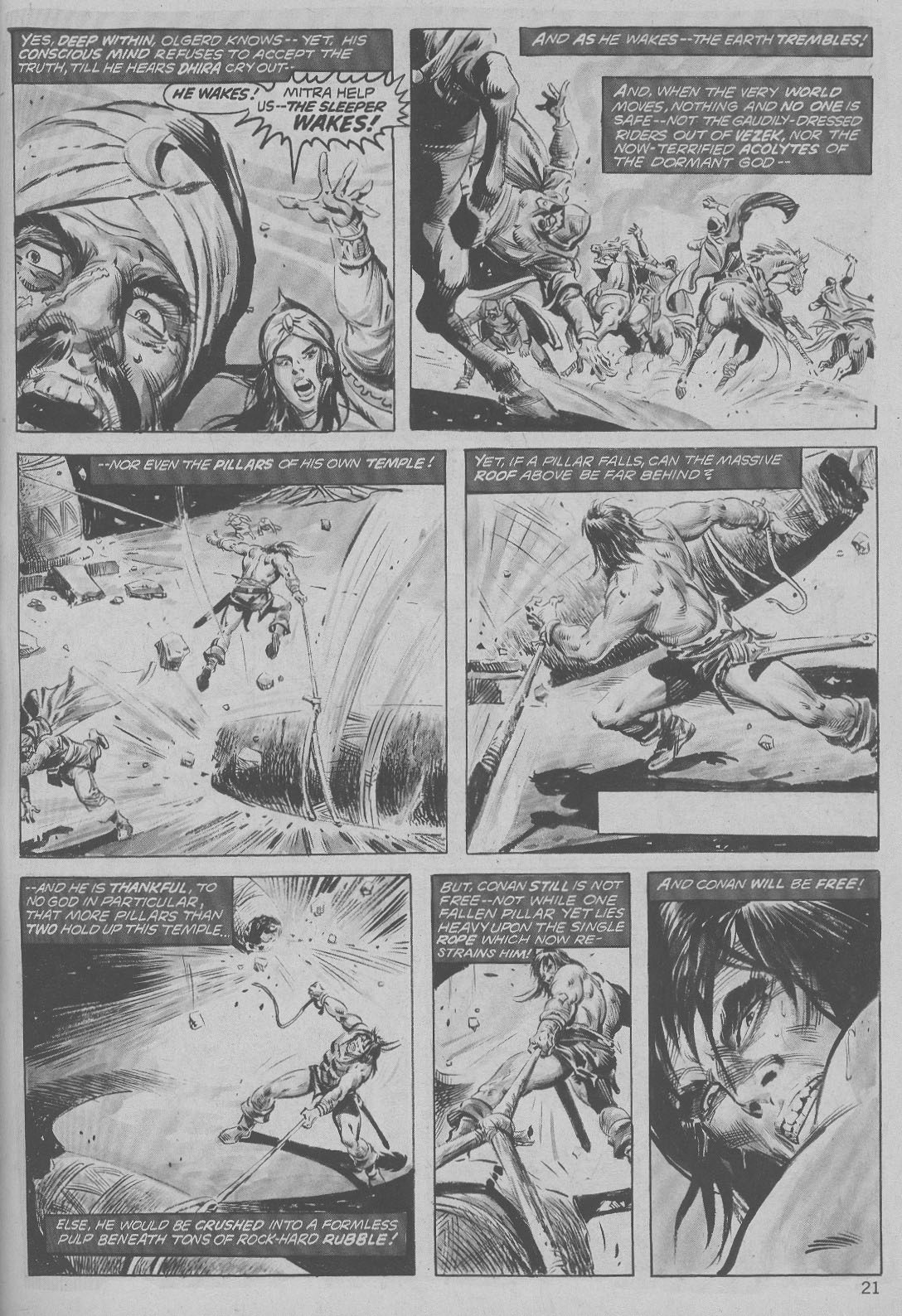 The Savage Sword Of Conan Issue #6 #7 - English 21