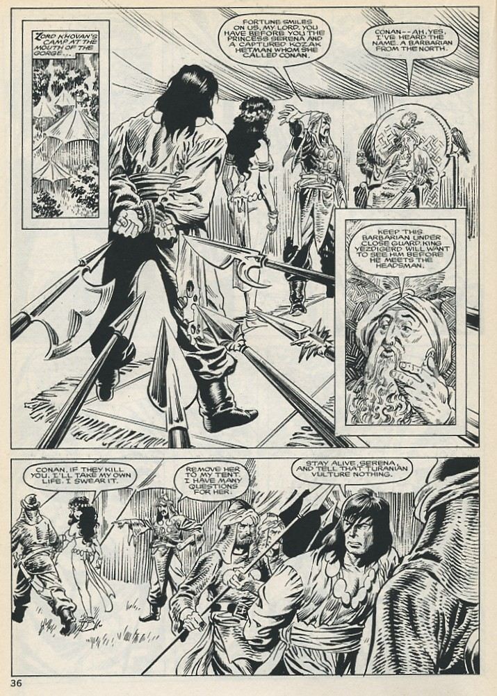The Savage Sword Of Conan Issue #131 #132 - English 36
