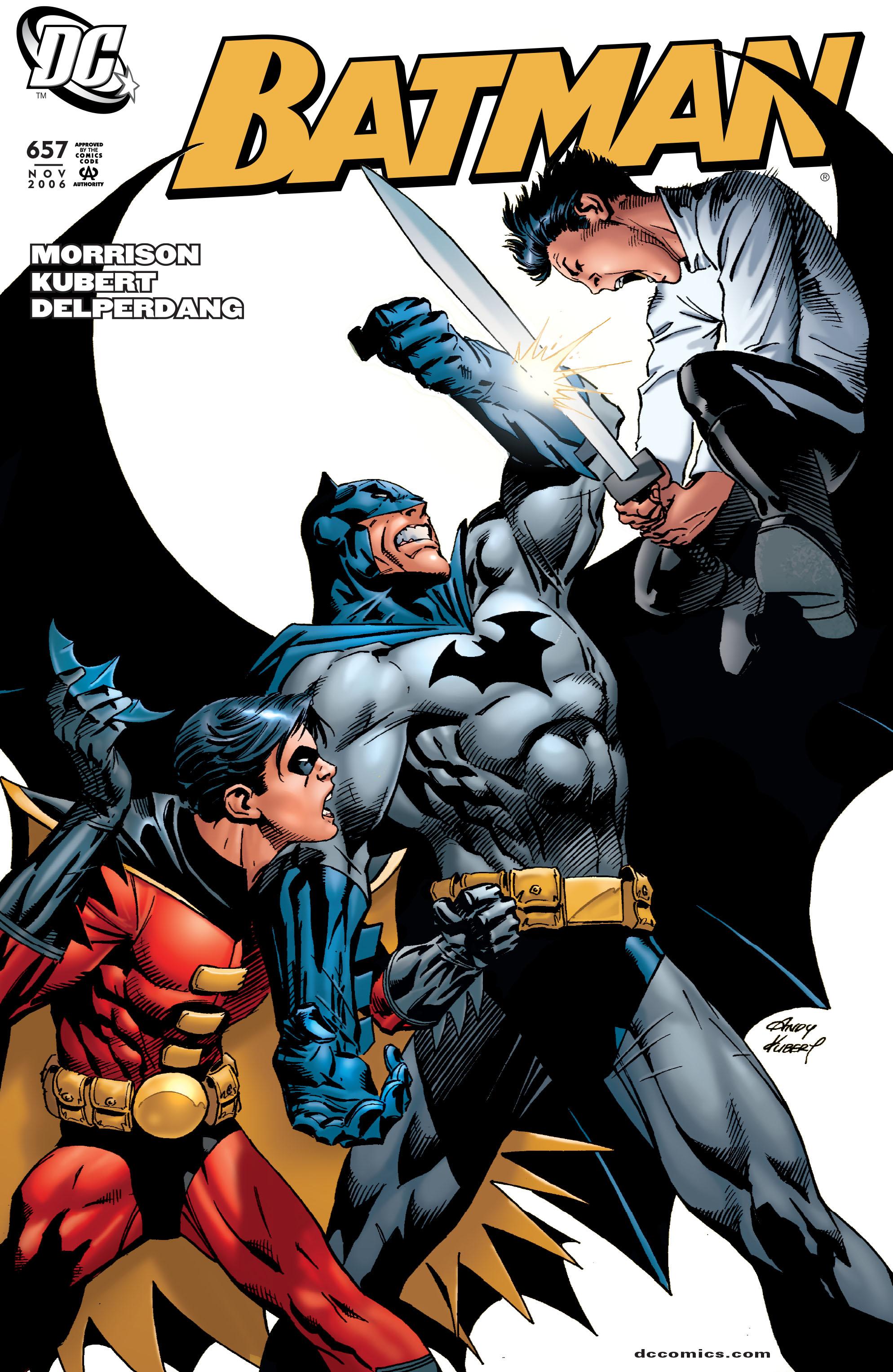 Batman (1940) 657 Page 1