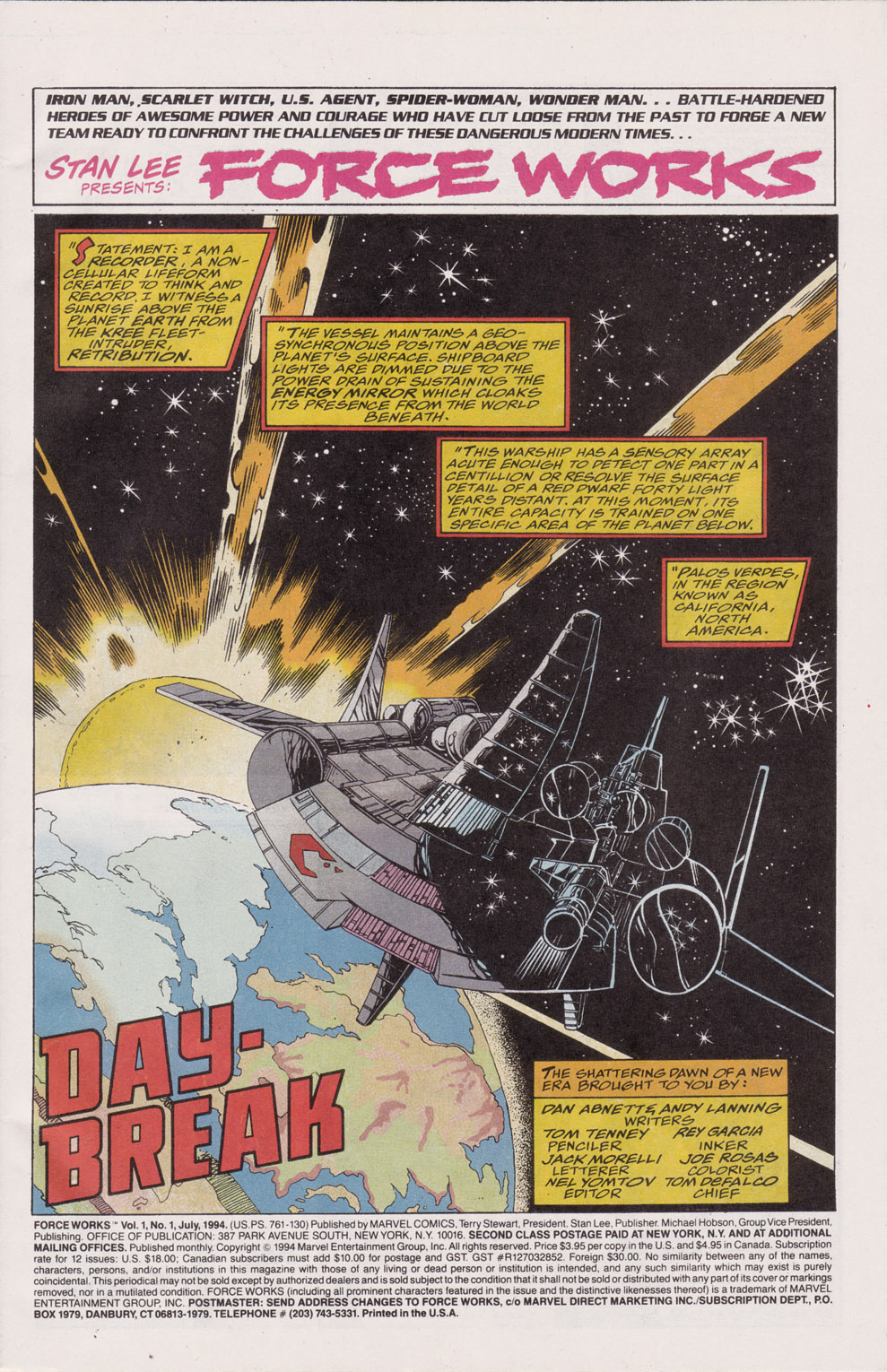 Force Works Issue #1 #1 - English 3