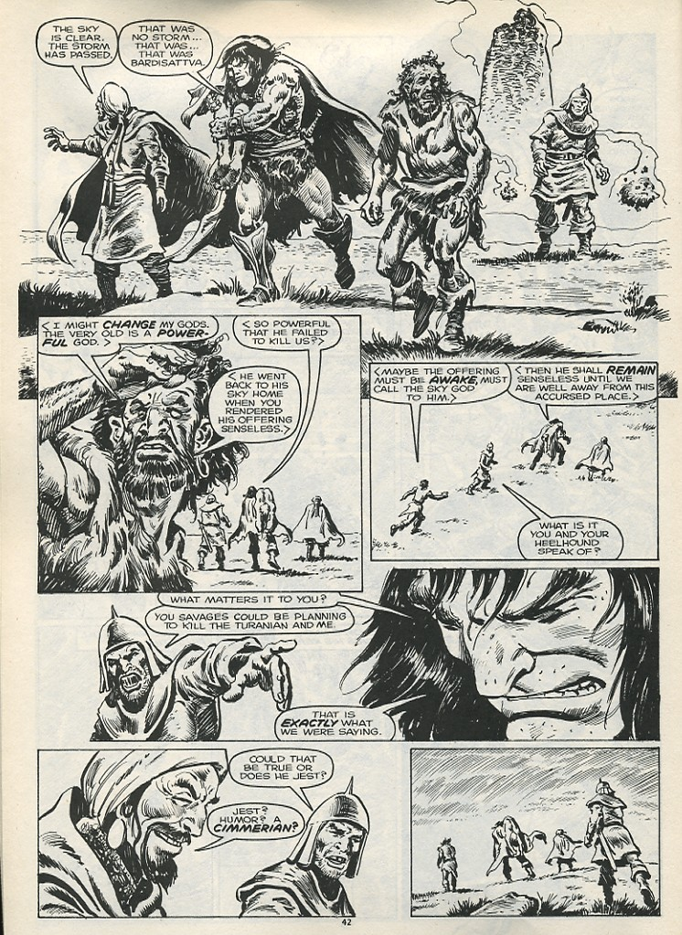 The Savage Sword Of Conan Issue #178 #179 - English 44
