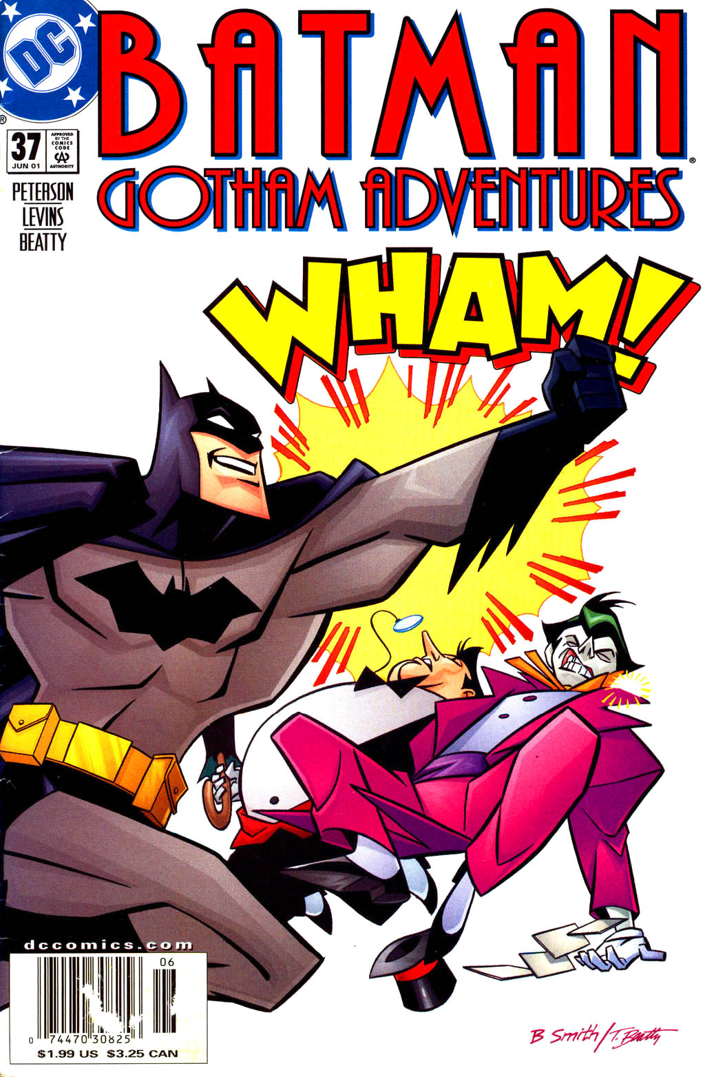Batman: Gotham Adventures 37 Page 1