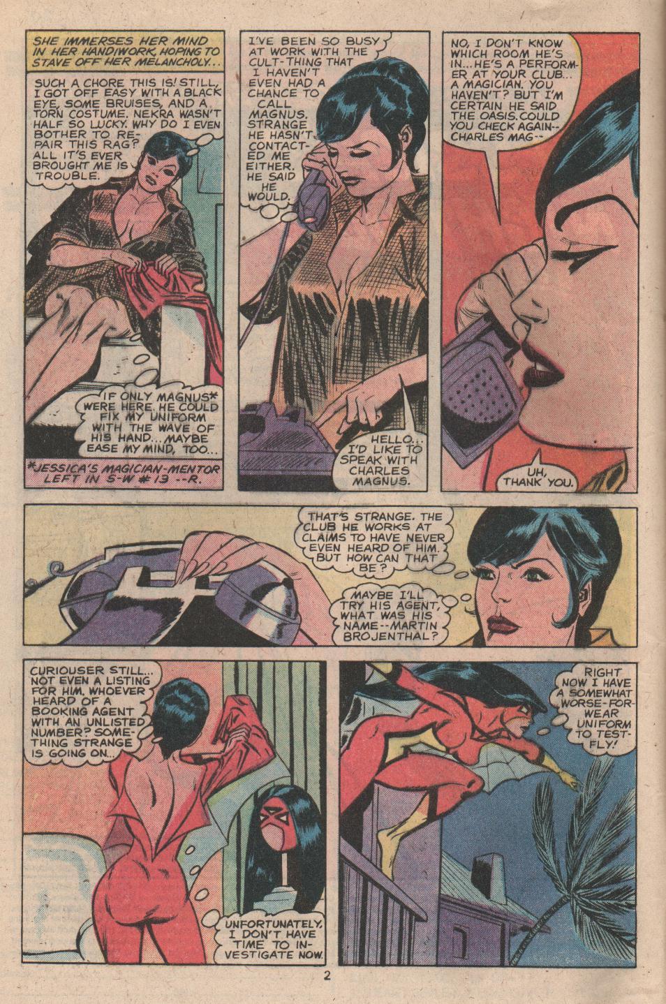 Spider-Woman (1978) #17 #34 - English 3