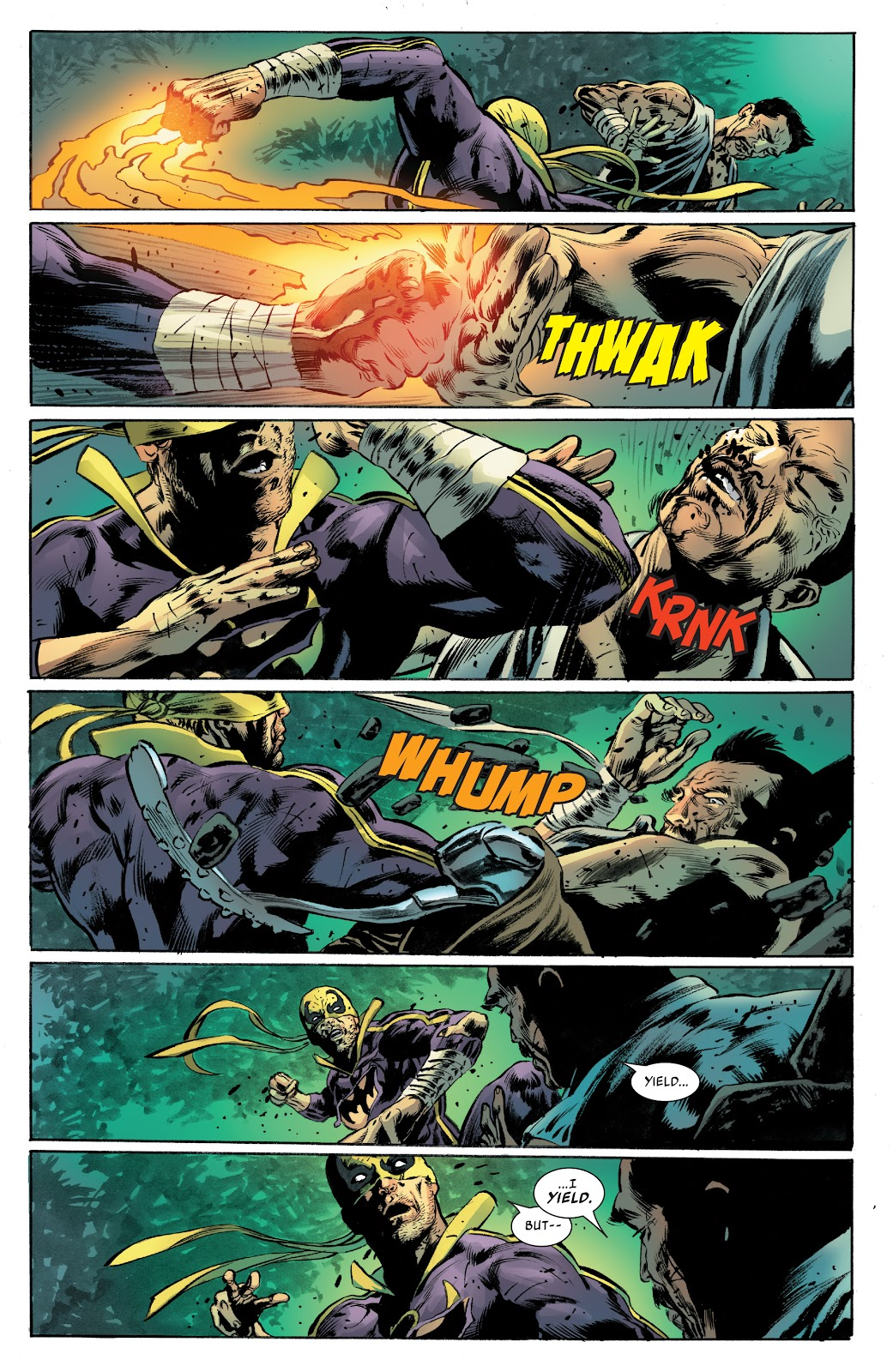 Iron Fist (2017) Issue #4 #4 - English 17