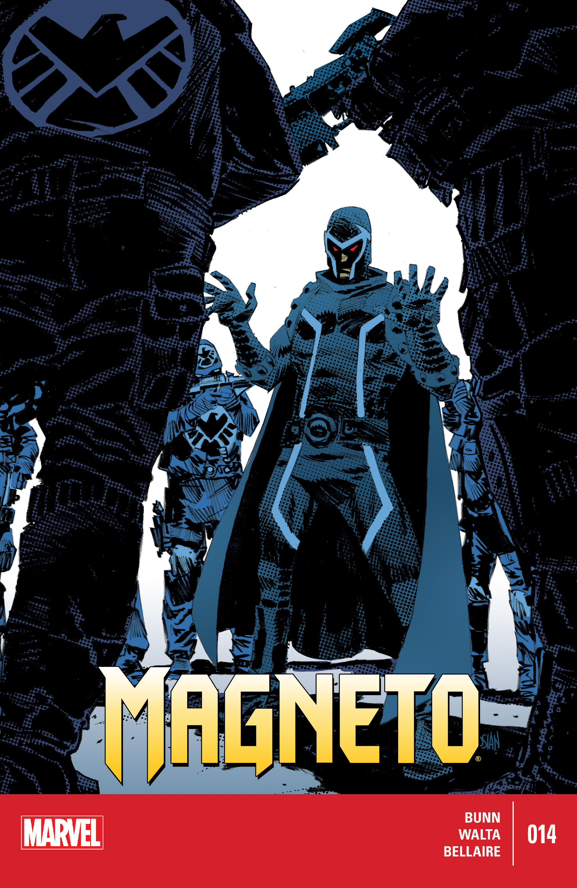MAGNETO #8 BUNN ALL-NEW MARVEL NOW! COMICS