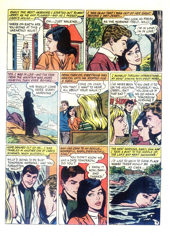 Read online Secret Hearts comic -  Issue #126 - 7