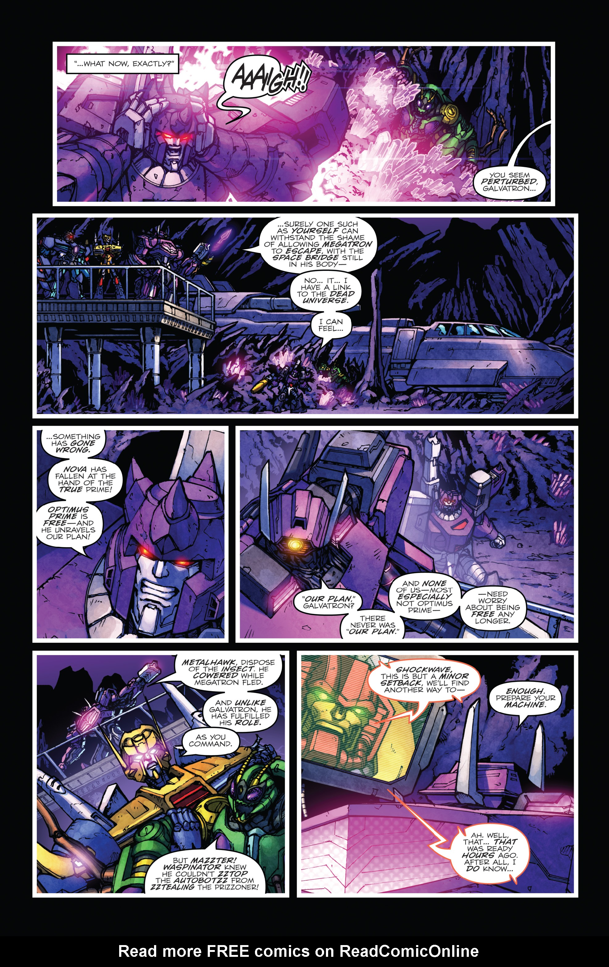 Read online The Transformers: Dark Cybertron Finale comic -  Issue # Full - 70