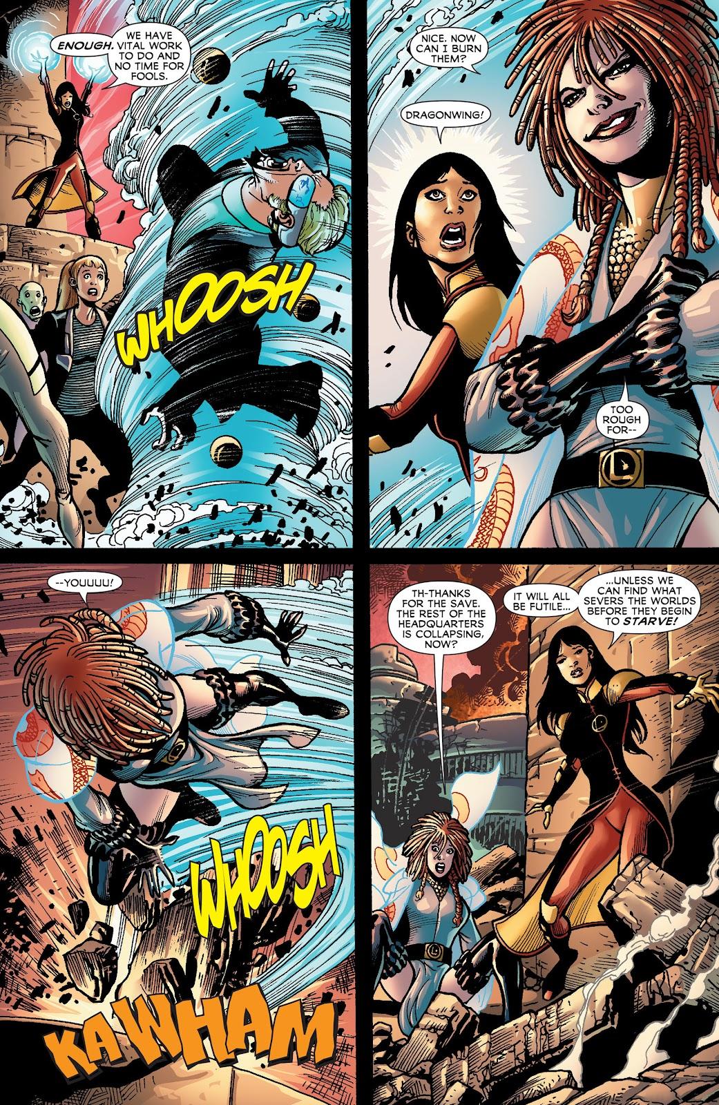 Legion of Super-Heroes (2011) Issue #18 #19 - English 5
