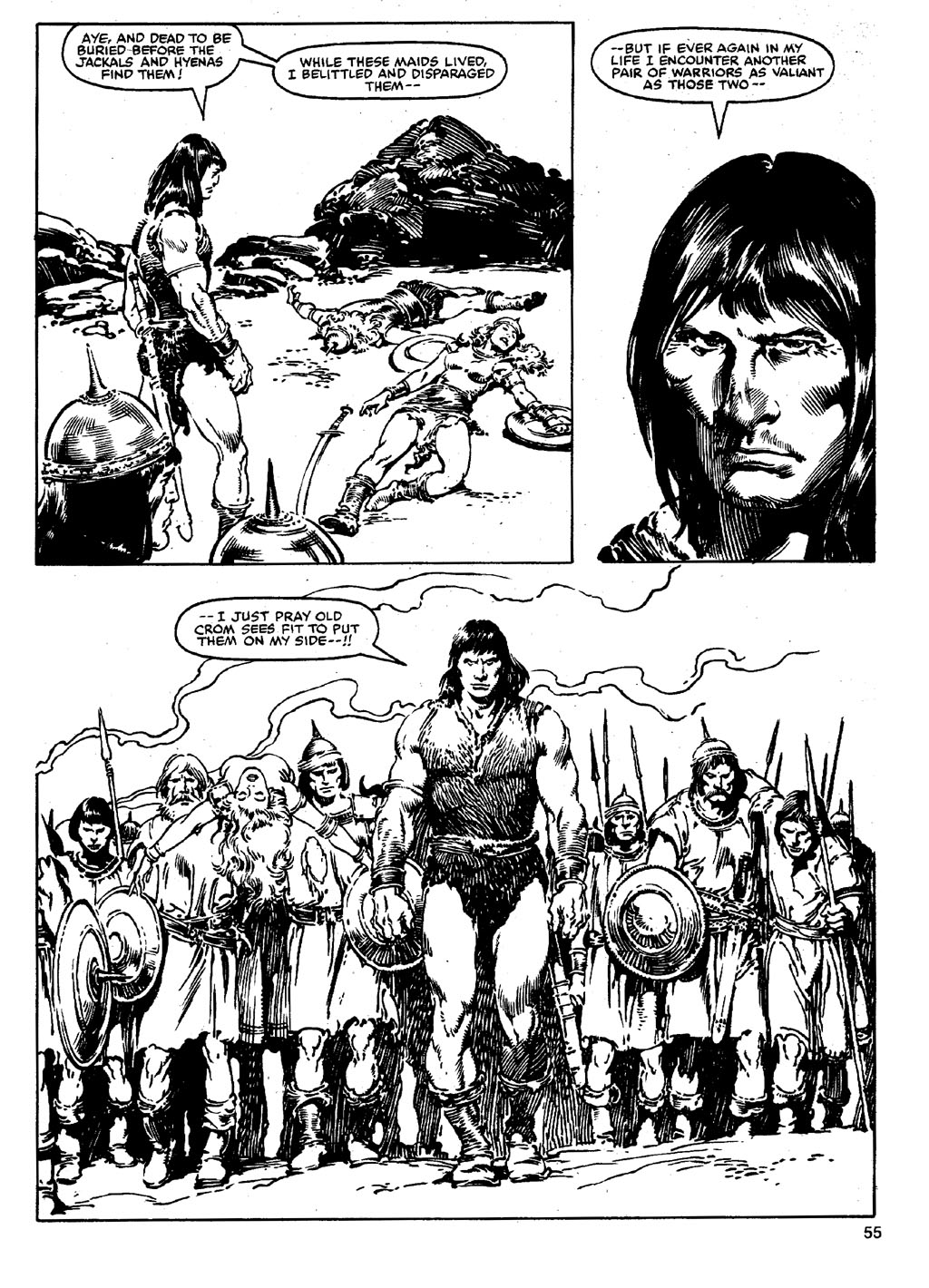 The Savage Sword Of Conan Issue #90 #91 - English 54