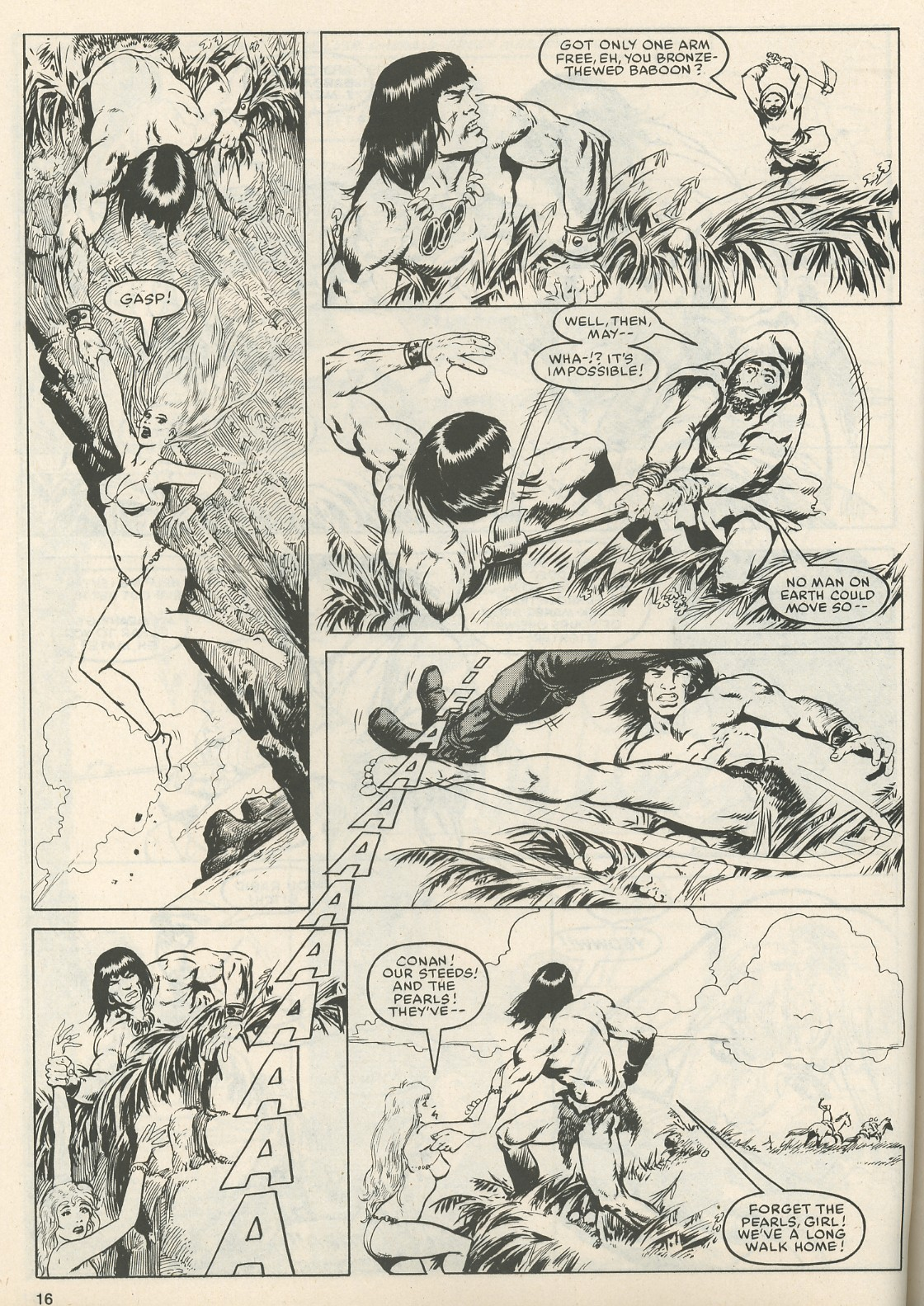 The Savage Sword Of Conan Issue #111 #112 - English 16