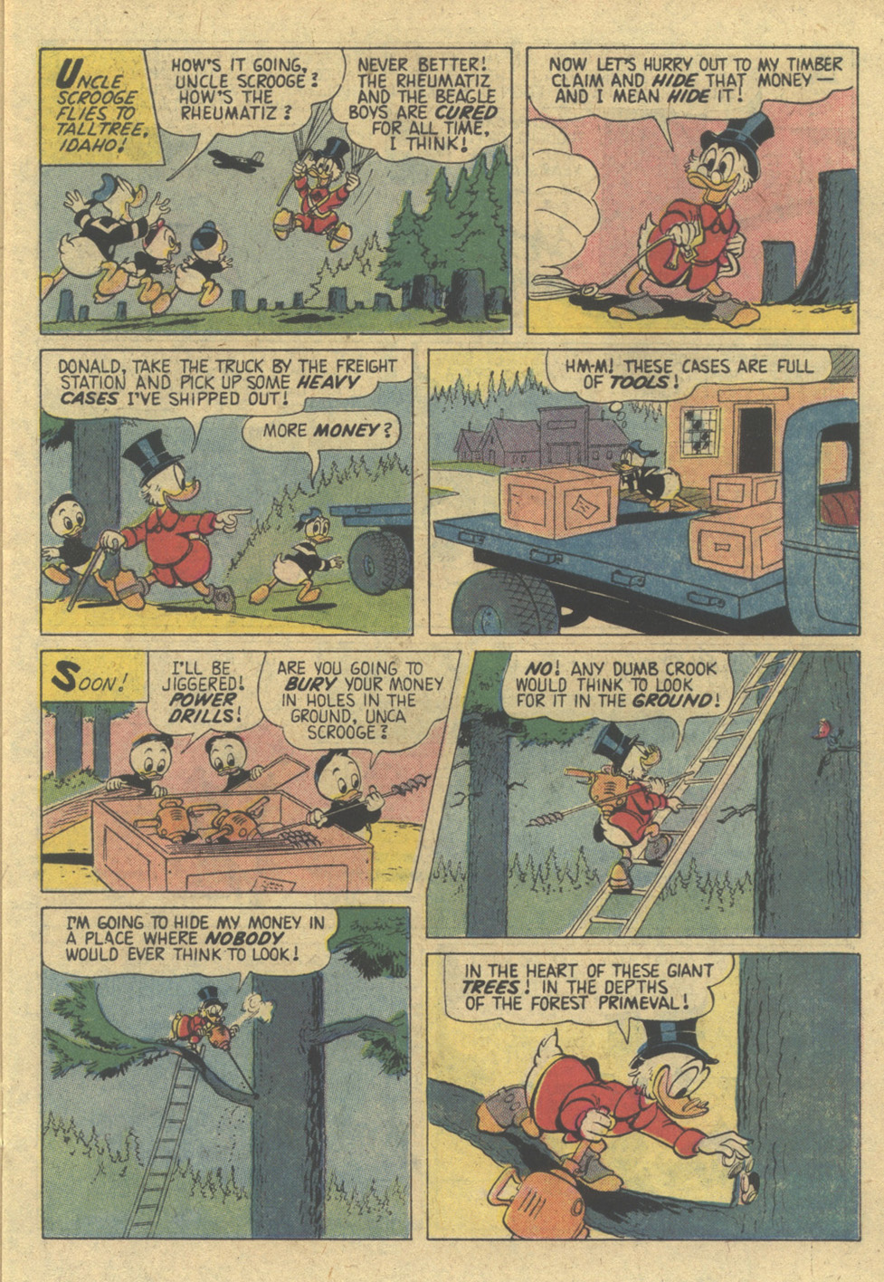 Uncle Scrooge (1953) Issue #144 #144 - English 15