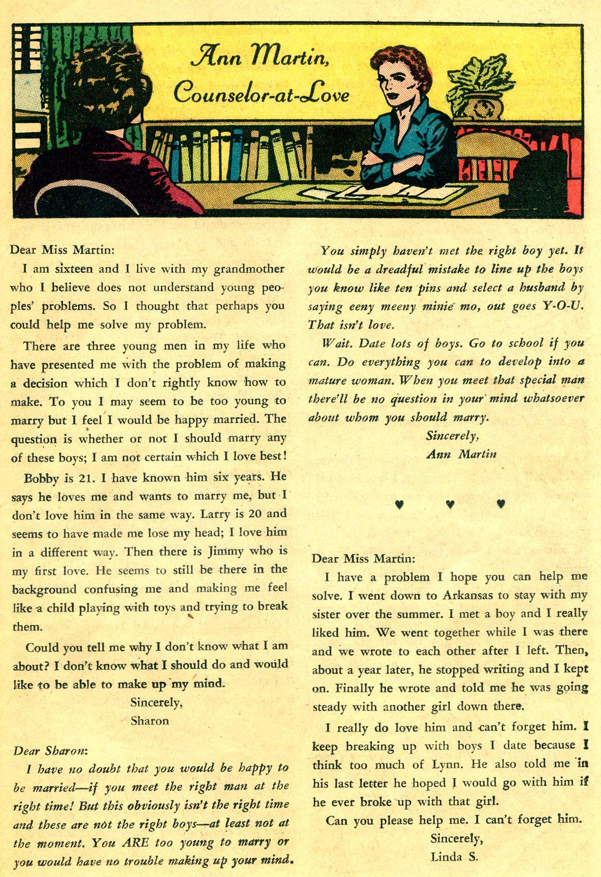 Read online Secret Hearts comic -  Issue #81 - 25