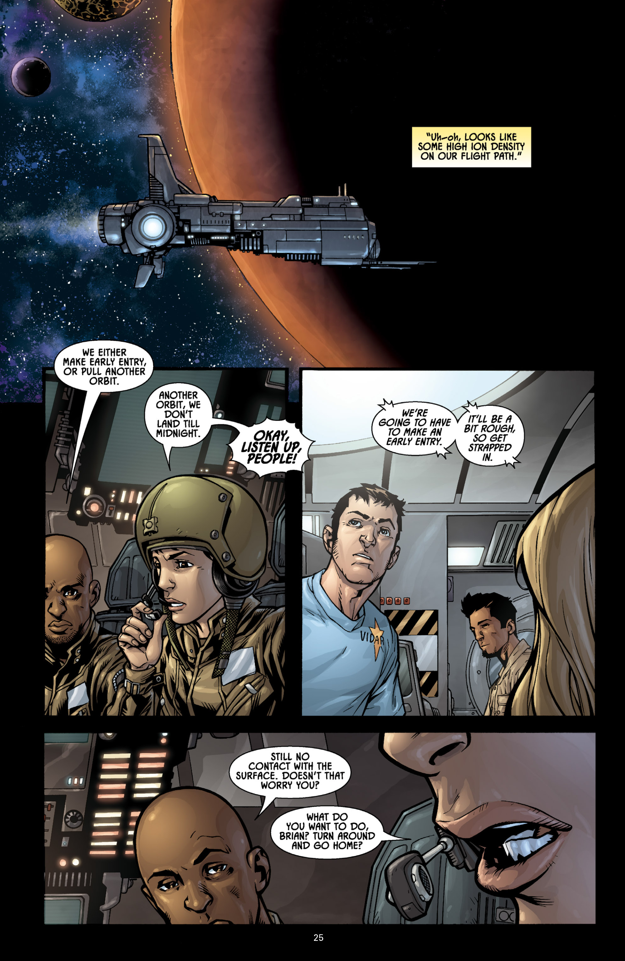 Aliens (2009) TPB Page 23