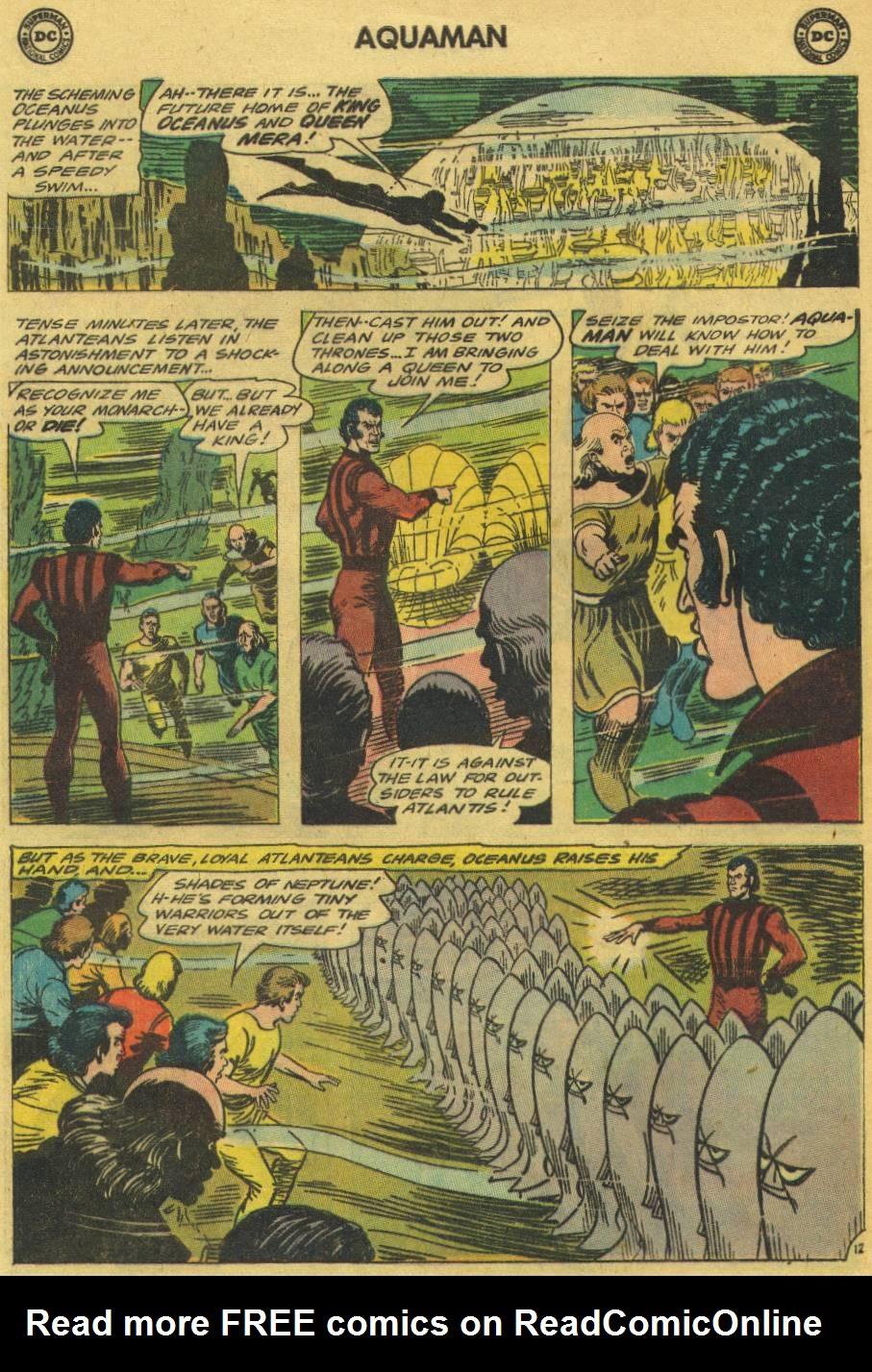 Aquaman (1962) Issue #18 #18 - English 16