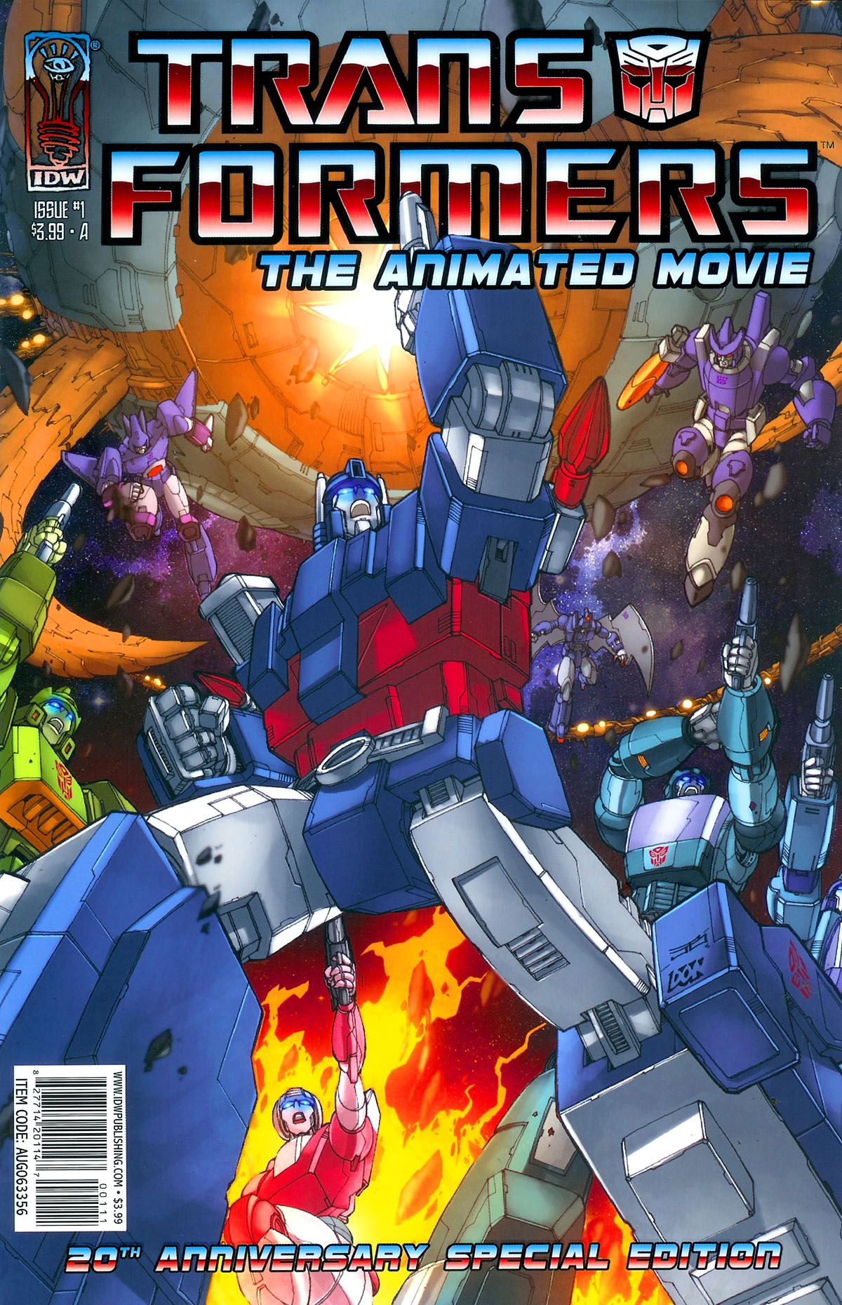 The Transformers: The Animated Movie 1 Page 1
