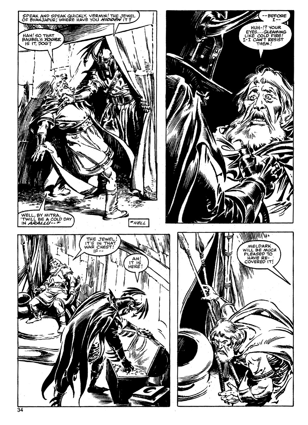 The Savage Sword Of Conan Issue #90 #91 - English 33