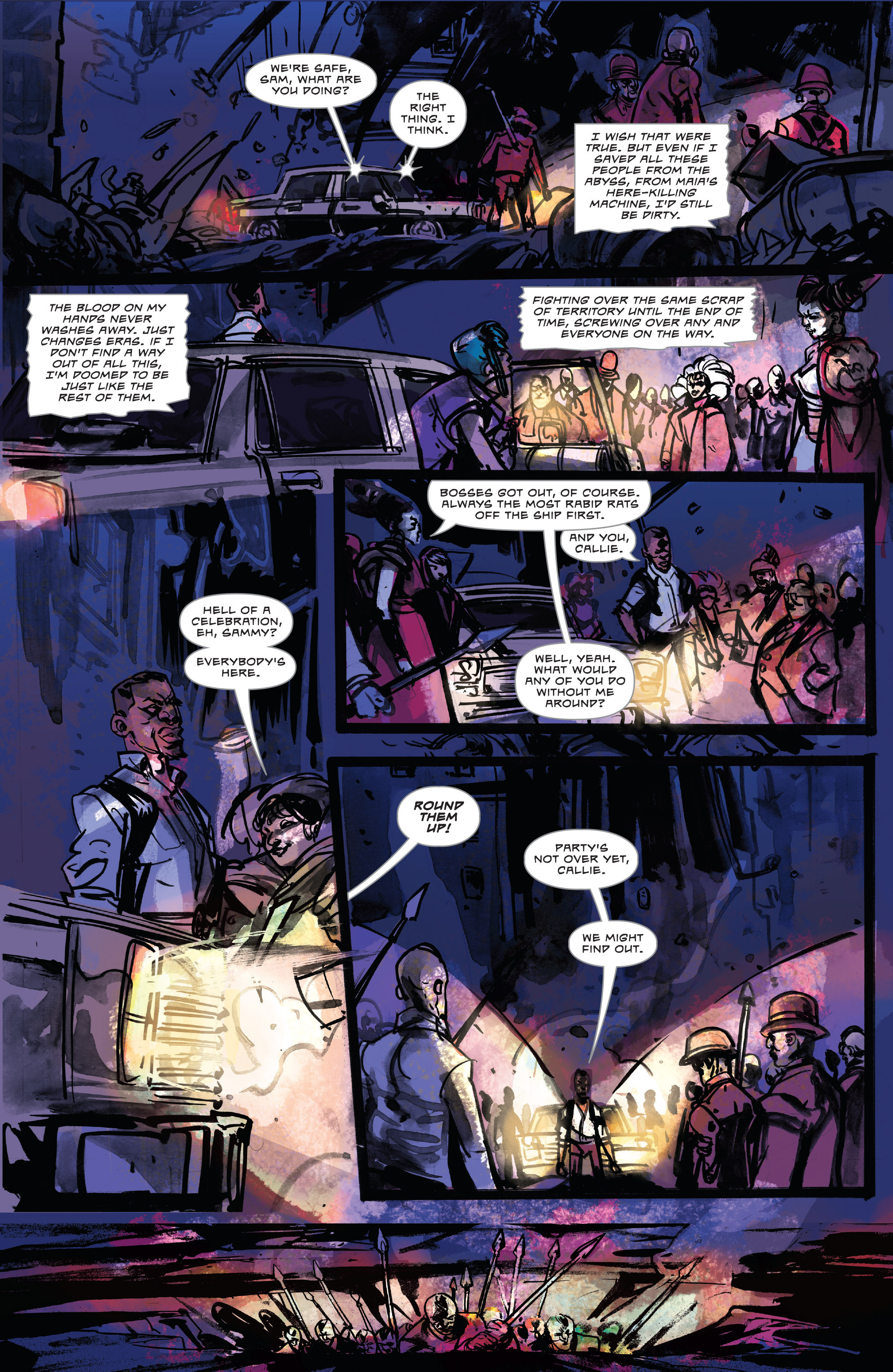 Read online Dead Letters comic -  Issue #11 - 18