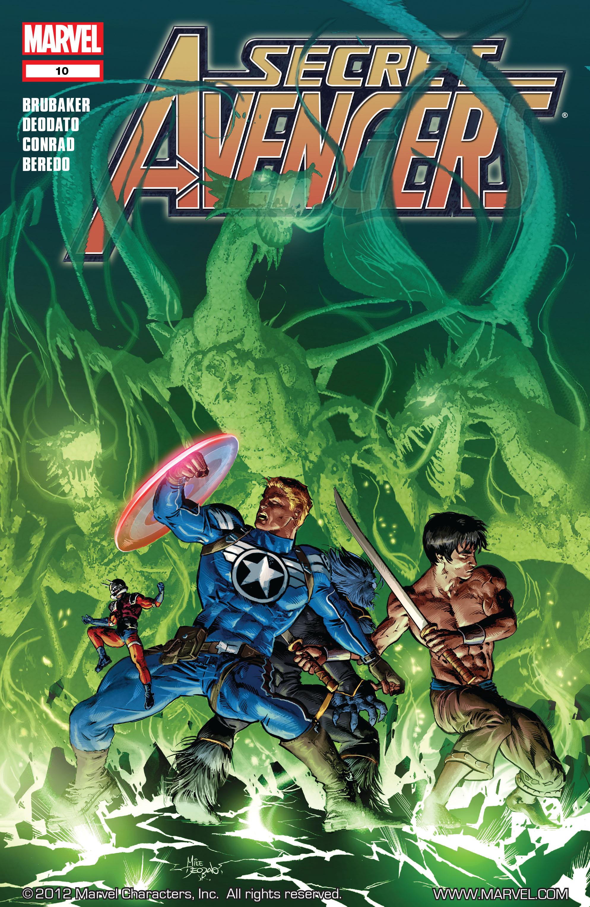 Read online Secret Avengers (2010) comic -  Issue #10 - 1