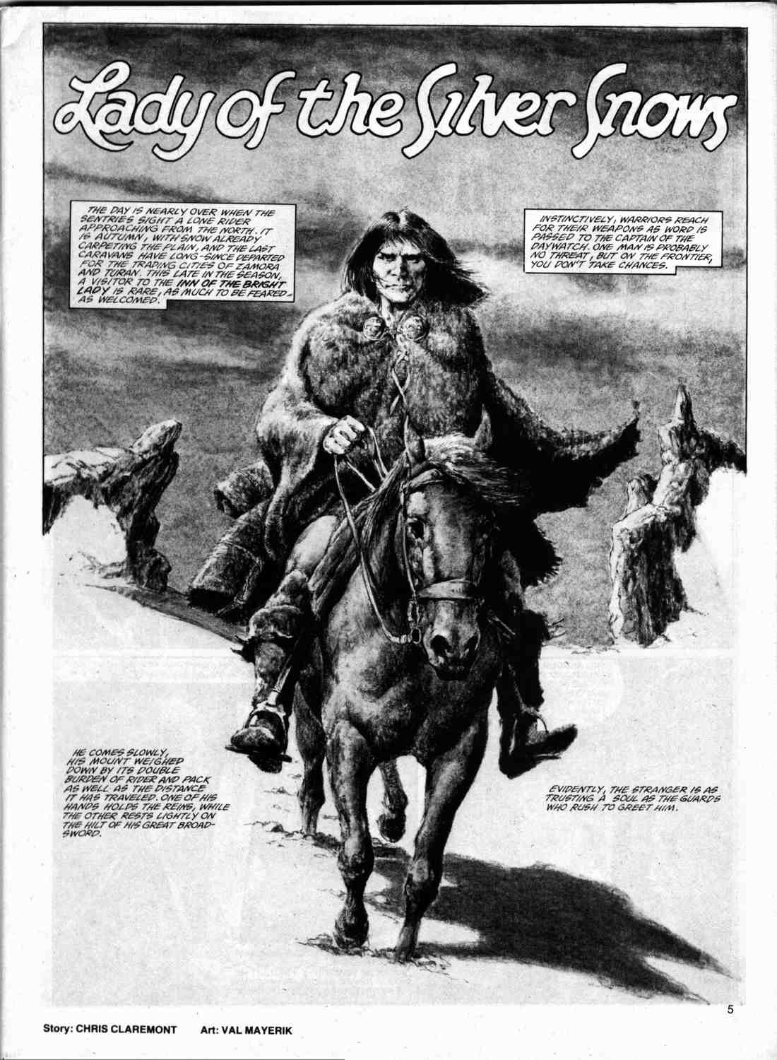The Savage Sword Of Conan Issue #74 #75 - English 4