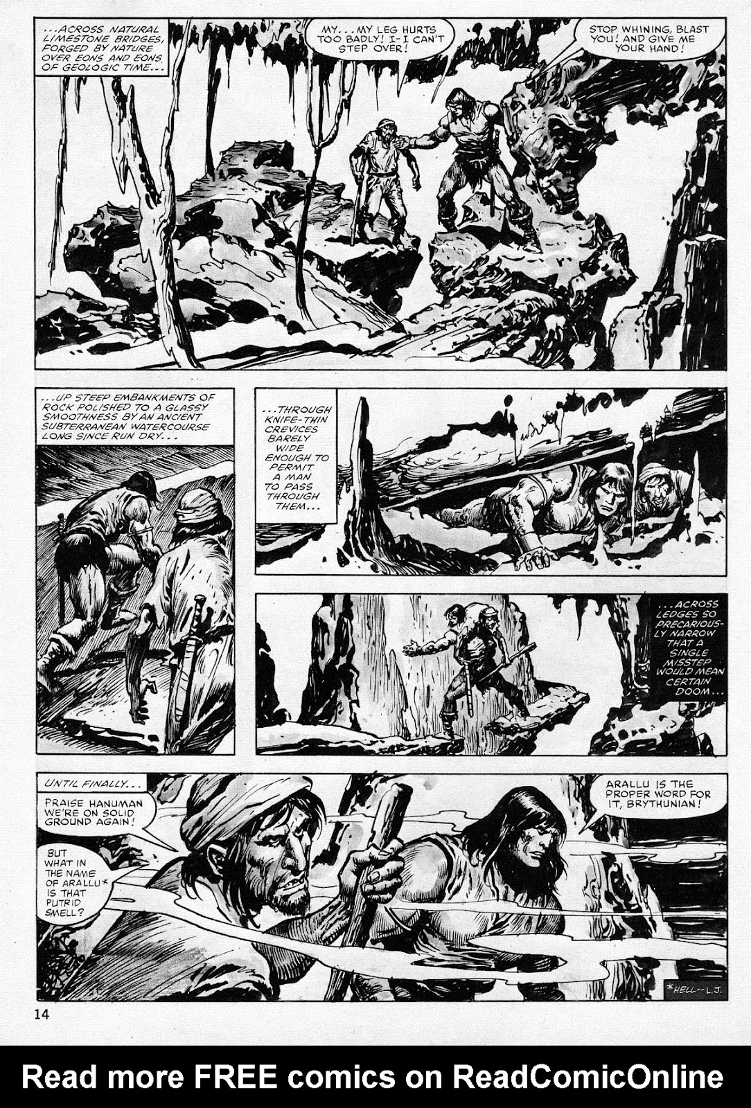 The Savage Sword Of Conan Issue #77 #78 - English 14