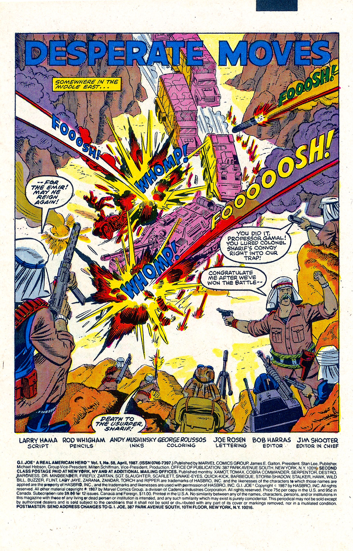 G.I. Joe: A Real American Hero 58 Page 2