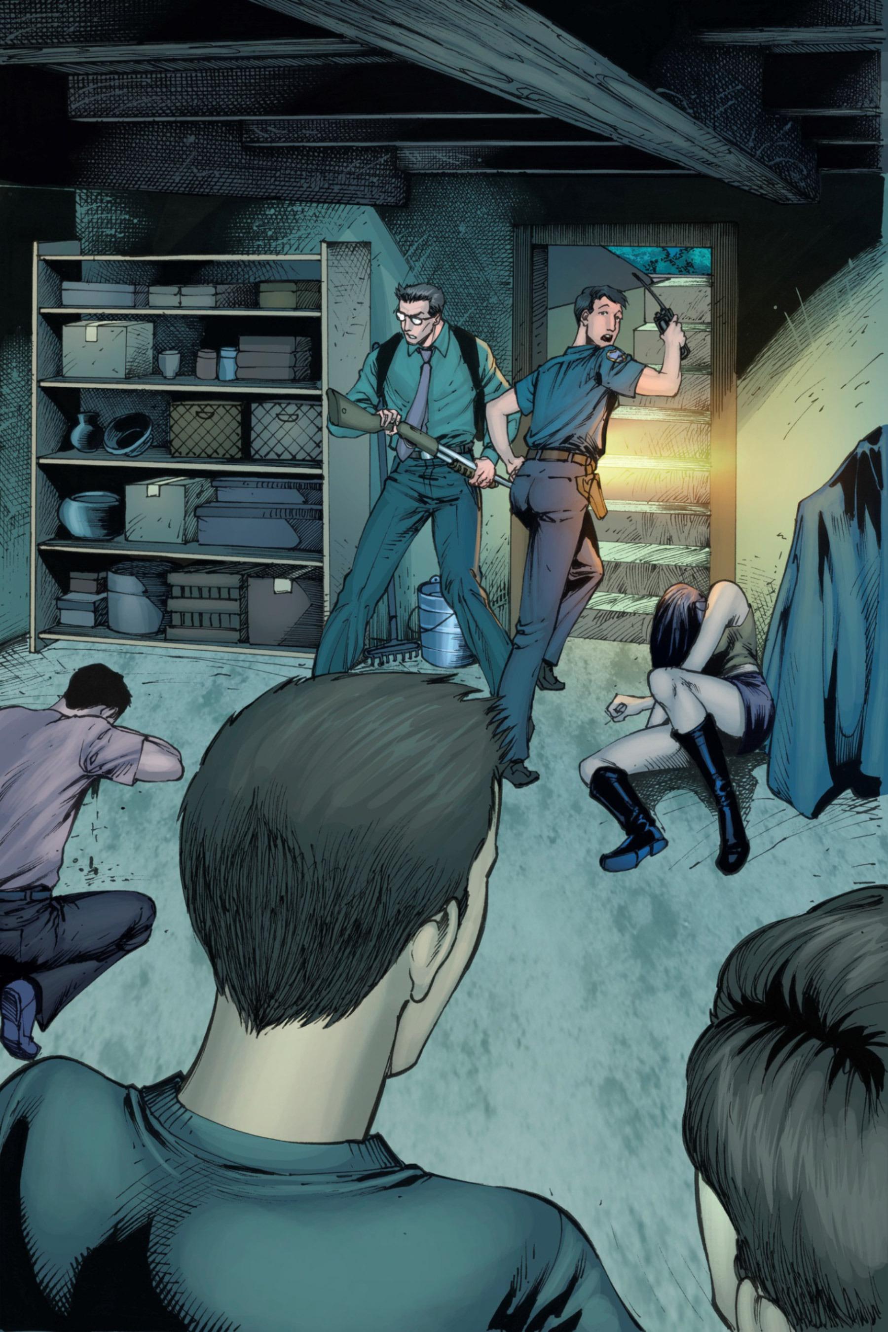 Read online Z-Men comic -  Issue #3 - 96