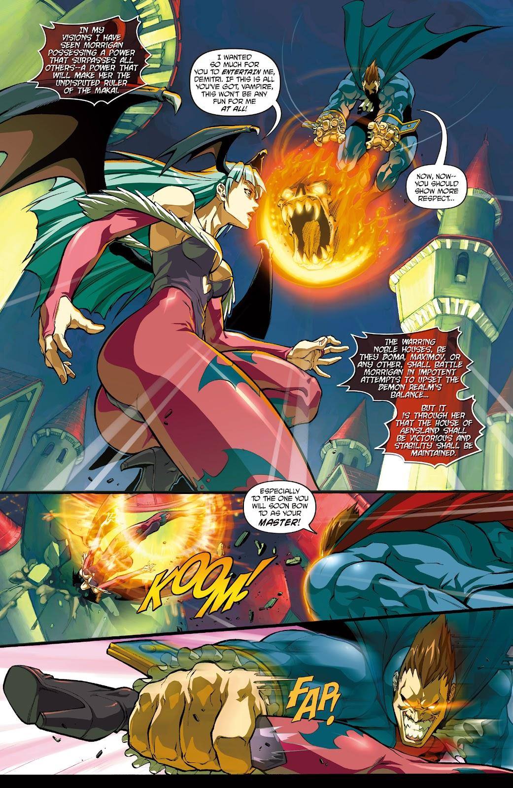 Darkstalkers Issue #0 #1 - English 4