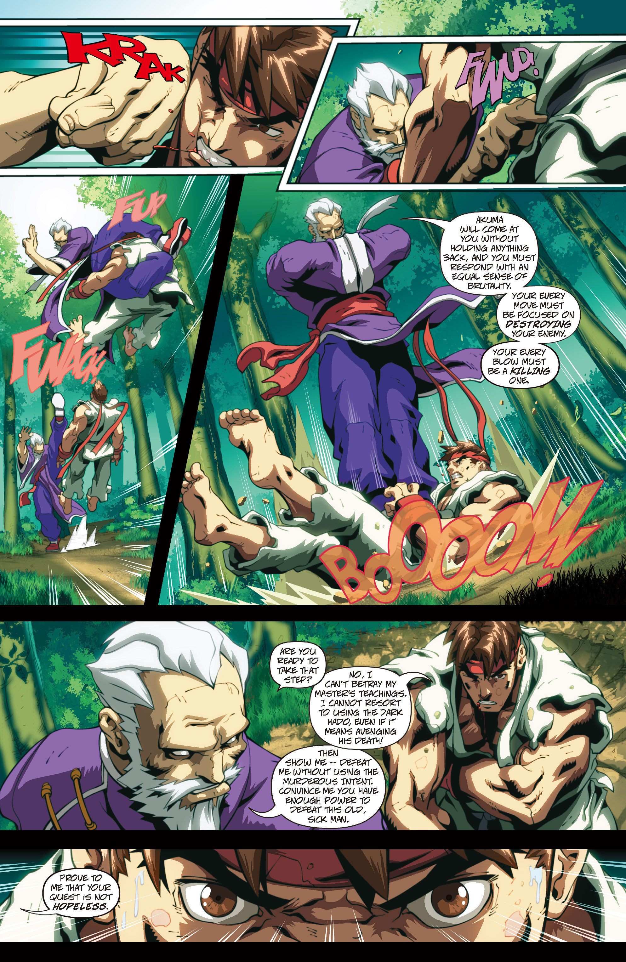 Street Fighter II chap 4 pic 13