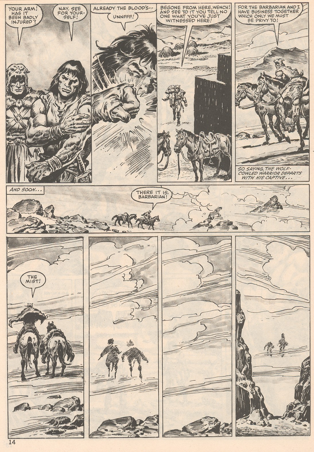 The Savage Sword Of Conan Issue #104 #105 - English 14