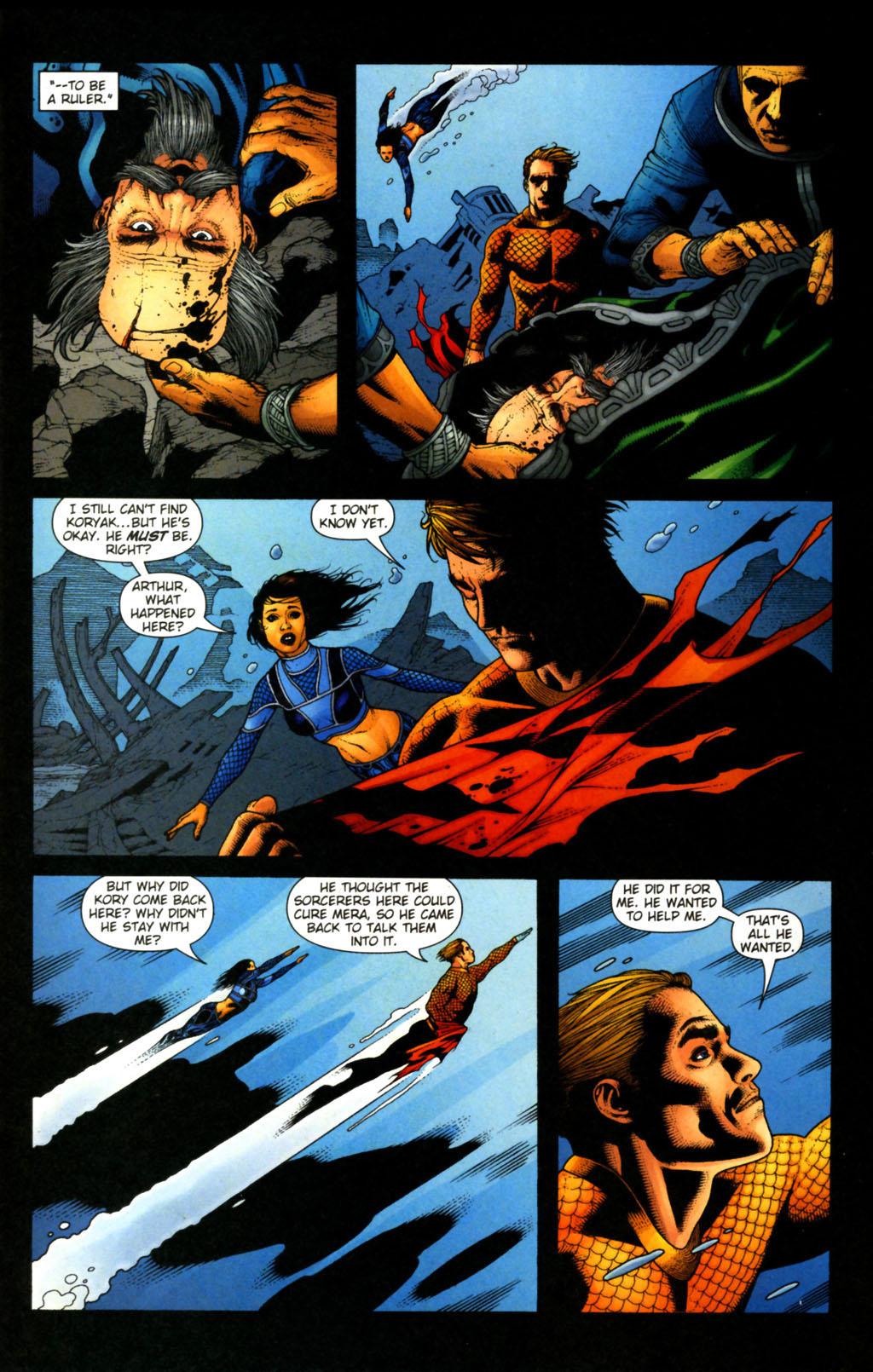 Read online Aquaman (2003) comic -  Issue #38 - 8