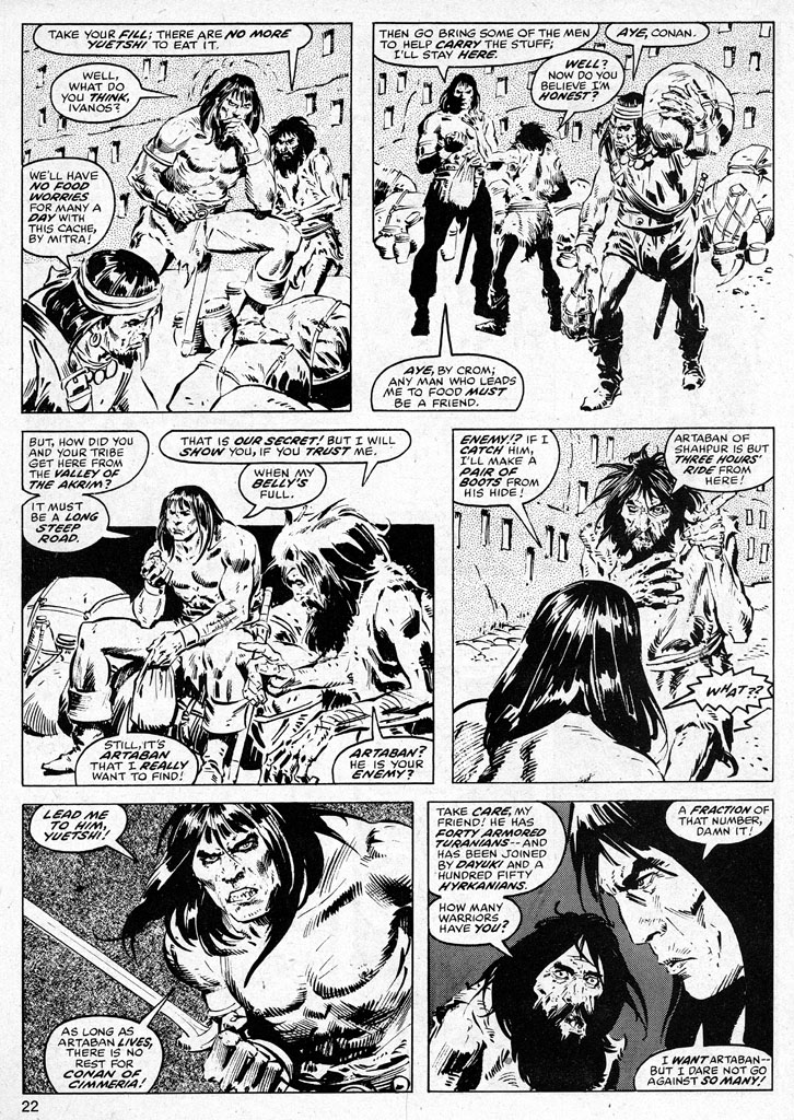 The Savage Sword Of Conan Issue #38 #39 - English 22