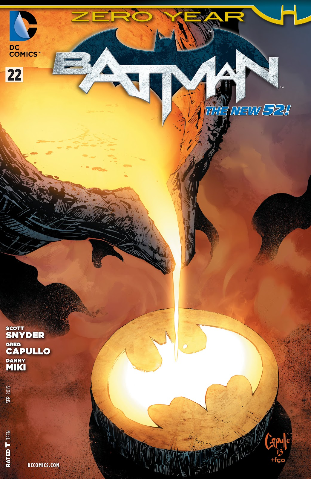 Batman (2011) Issue #22 #37 - English 1