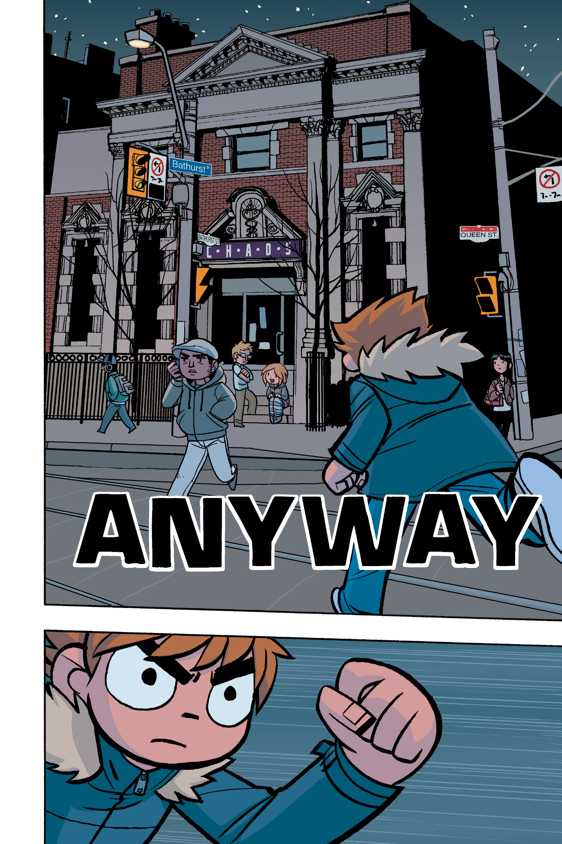 Read online Scott Pilgrim comic -  Issue #6 - 97