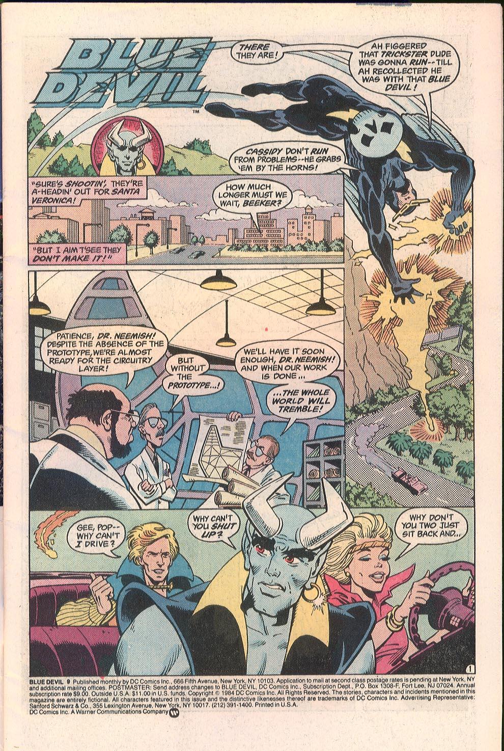 Blue Devil 9 Page 2