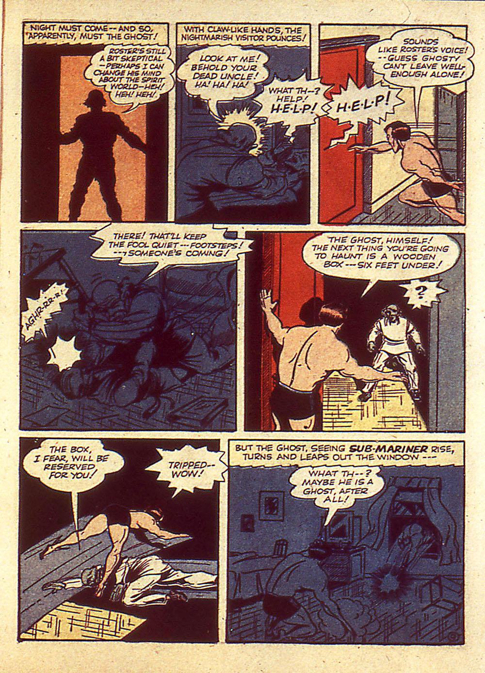 Sub-Mariner Comics Issue #4 #4 - English 12