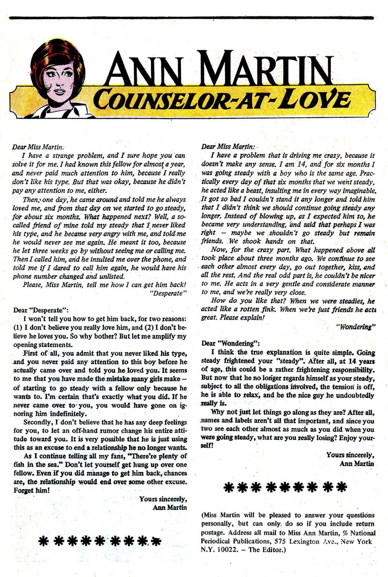 Read online Secret Hearts comic -  Issue #132 - 32