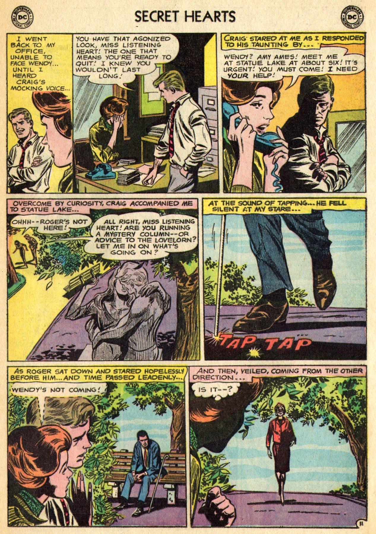 Read online Secret Hearts comic -  Issue #96 - 33