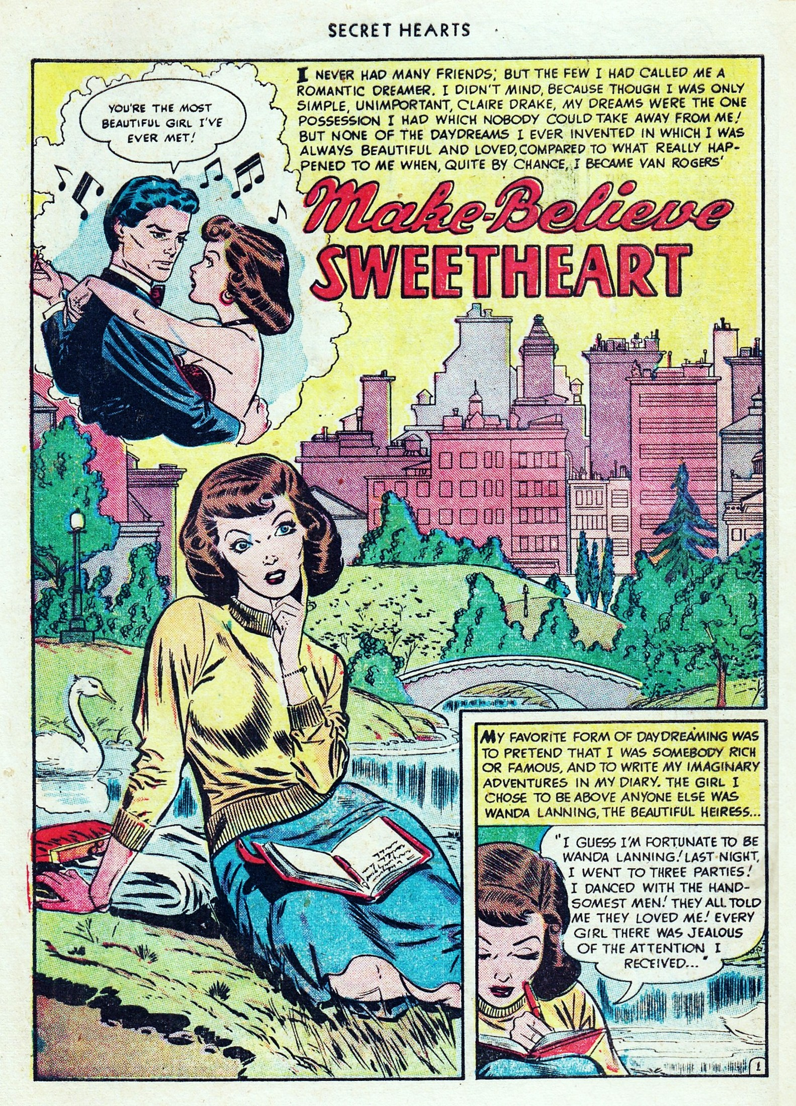Read online Secret Hearts comic -  Issue #1 - 4