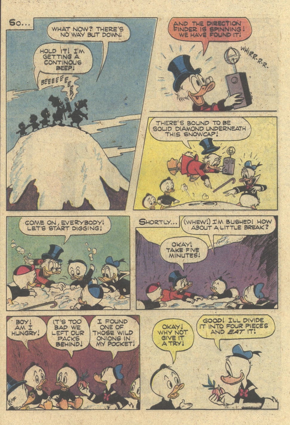 Uncle Scrooge (1953) Issue #170 #170 - English 32