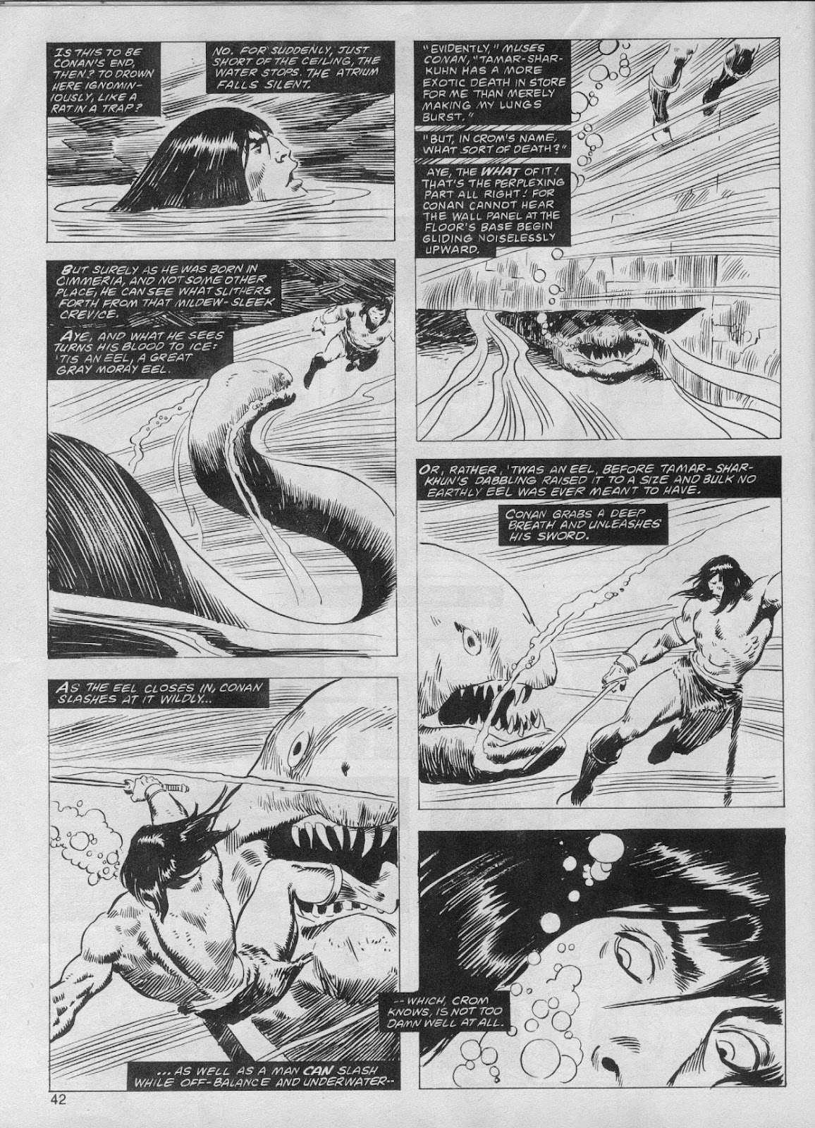The Savage Sword Of Conan Issue #61 #62 - English 42